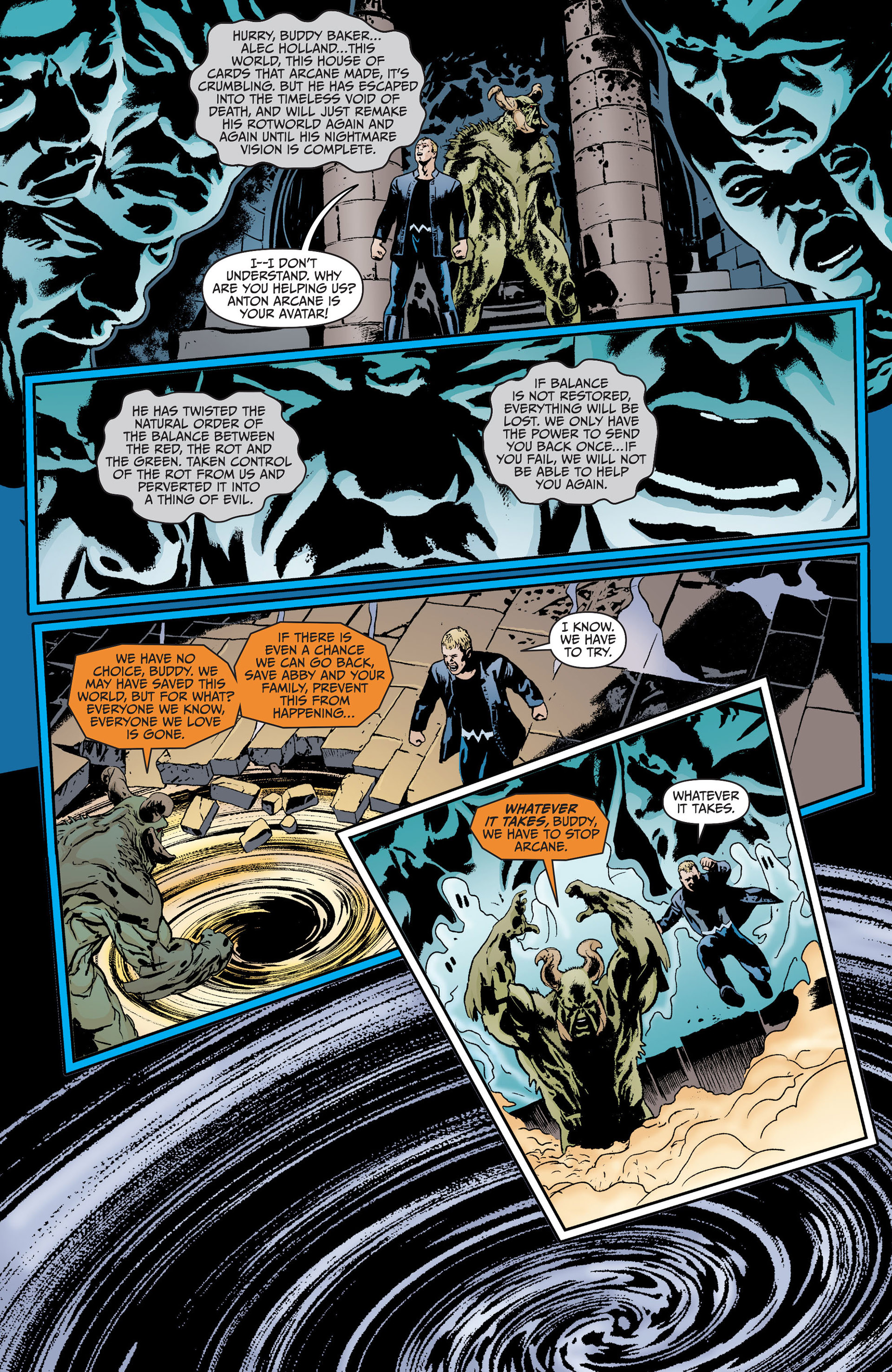 Read online Animal Man (2011) comic -  Issue #18 - 2