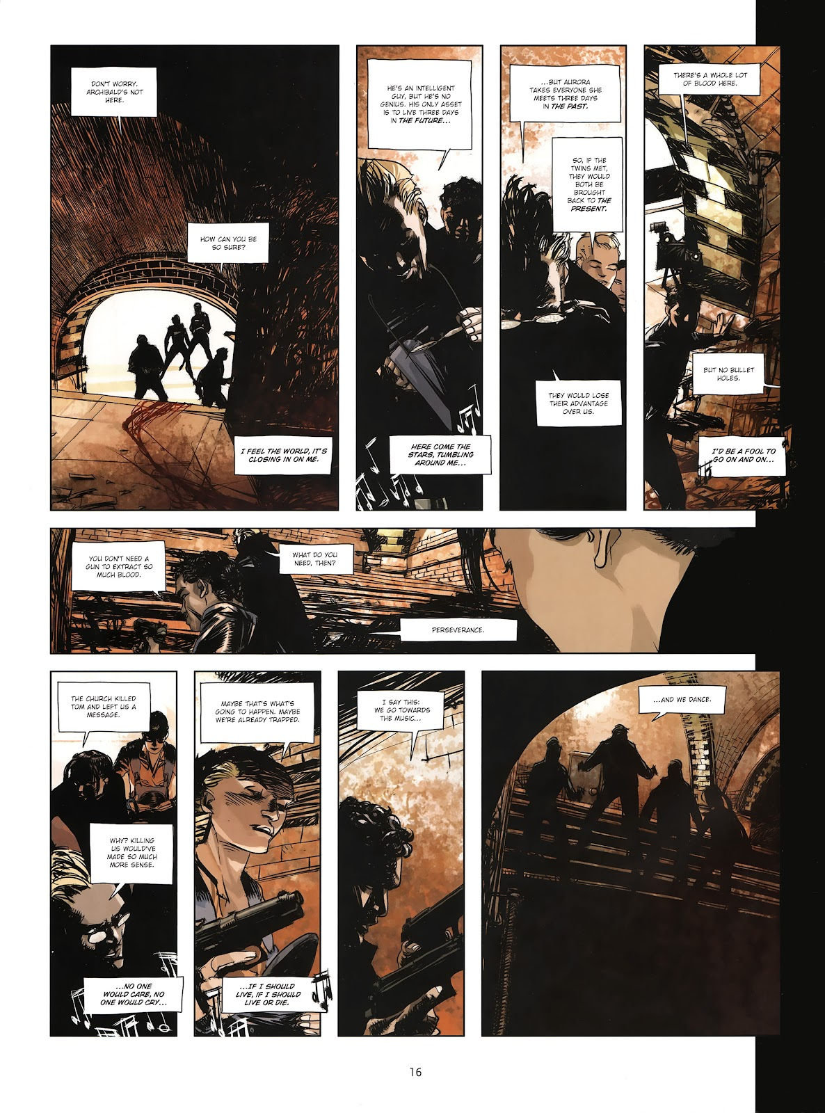 Read online Cutting Edge (2013) comic -  Issue #4 - 13