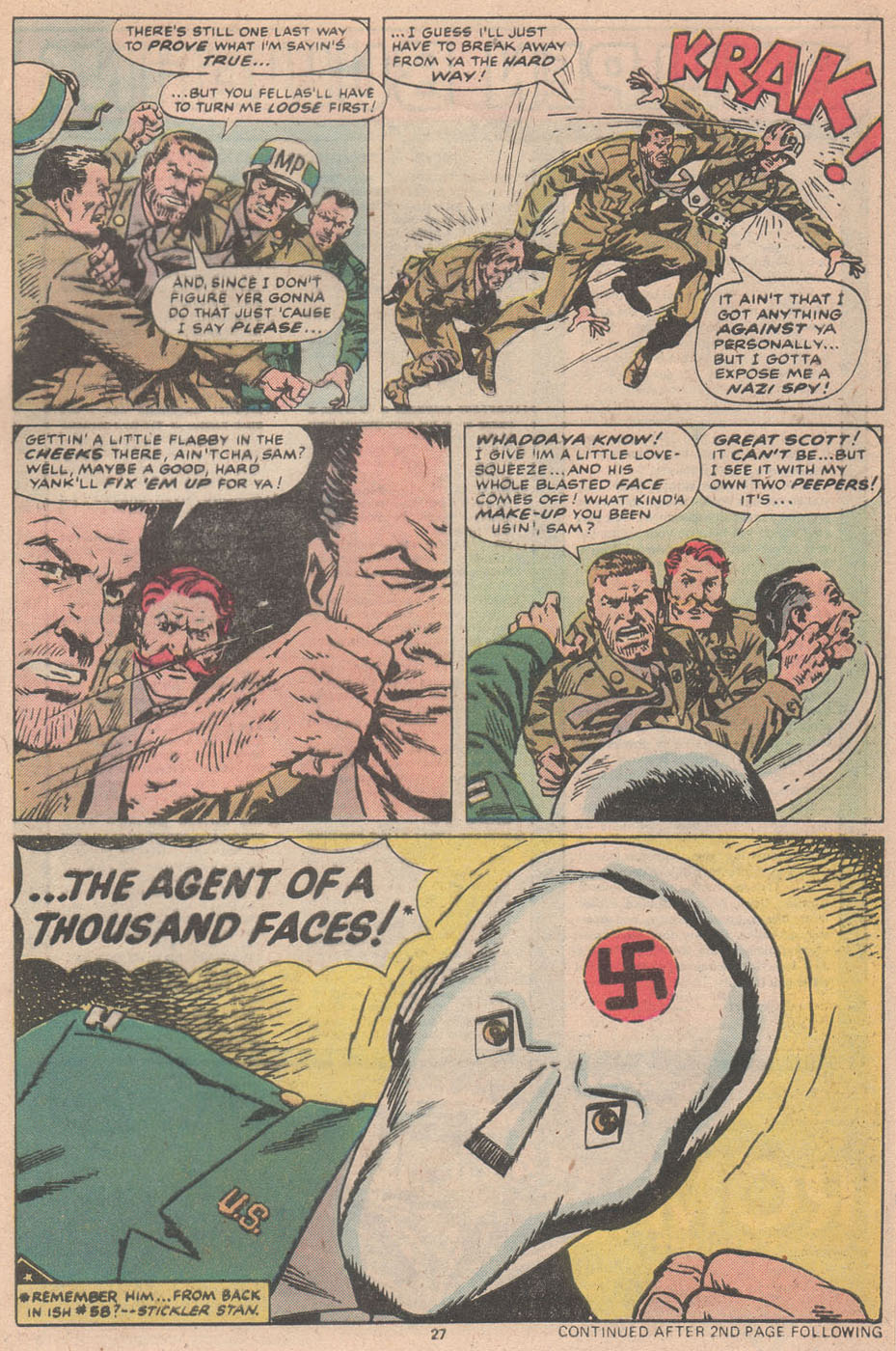 Read online Sgt. Fury comic -  Issue #156 - 28