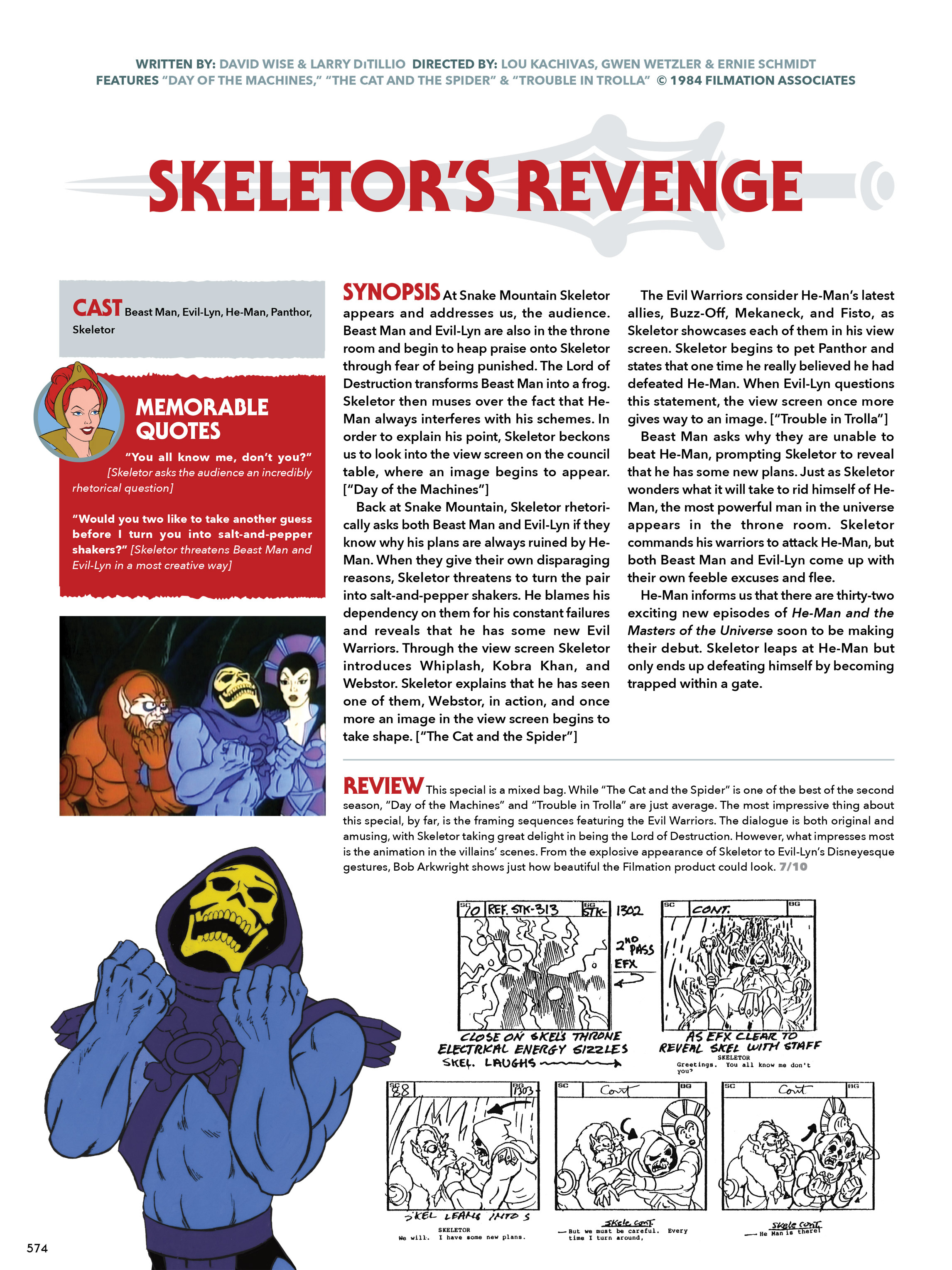 Read online He-Man and She-Ra: A Complete Guide to the Classic Animated Adventures comic -  Issue # TPB (Part 3) - 174