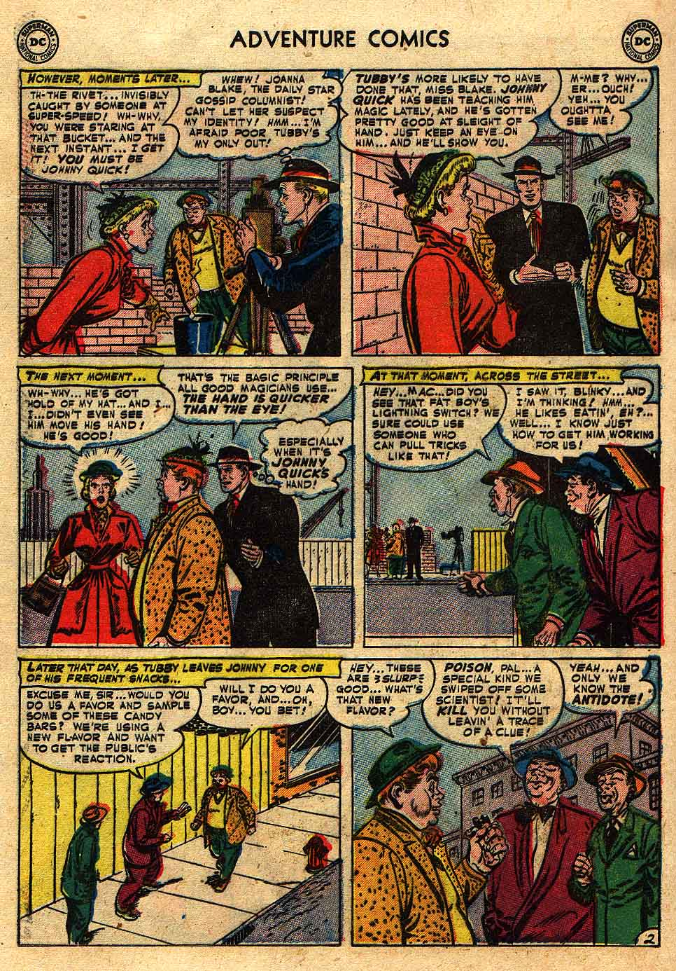 Read online Adventure Comics (1938) comic -  Issue #175 - 24