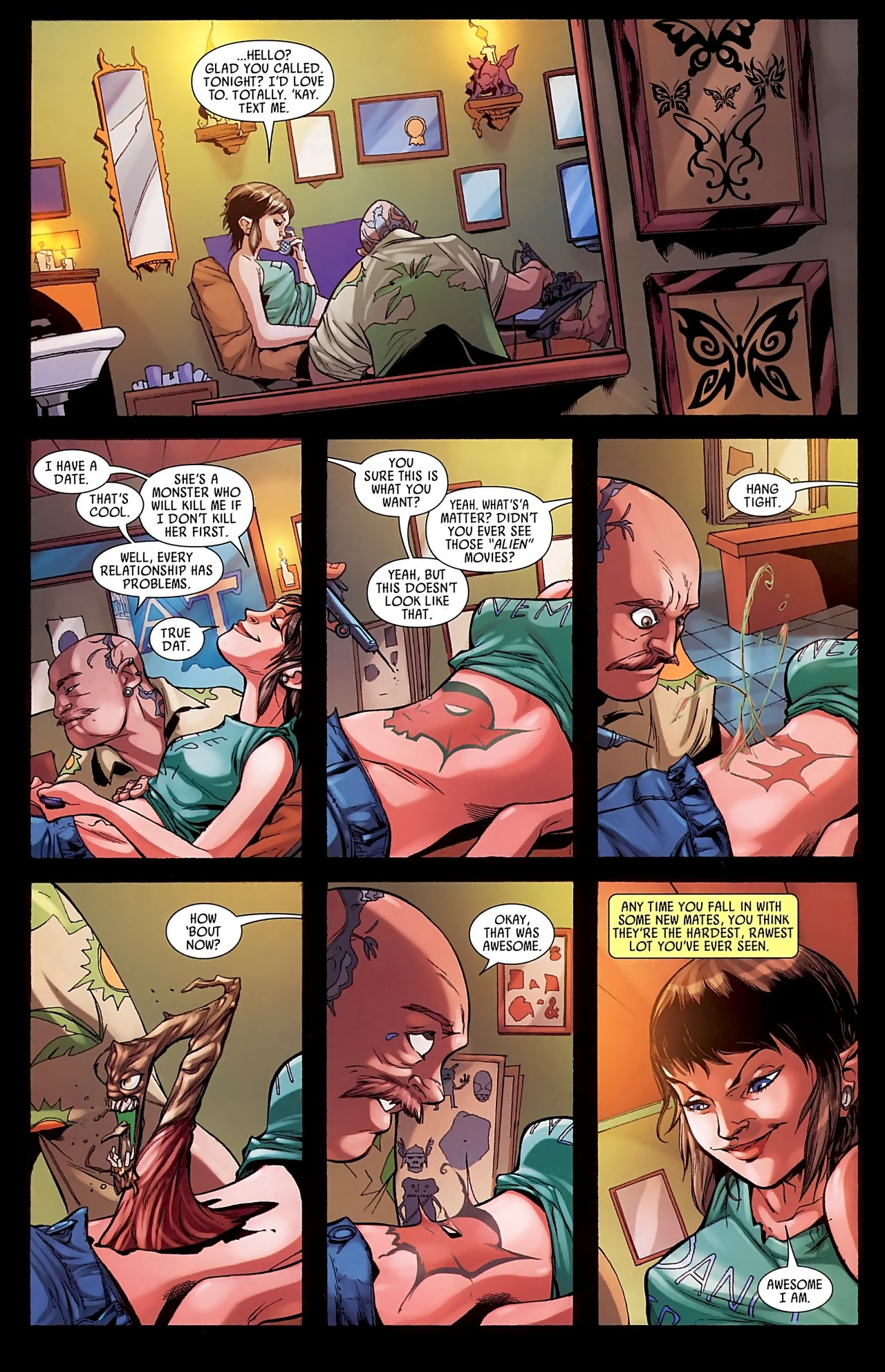 Read online Skrull Kill Krew (2009) comic -  Issue #3 - 11