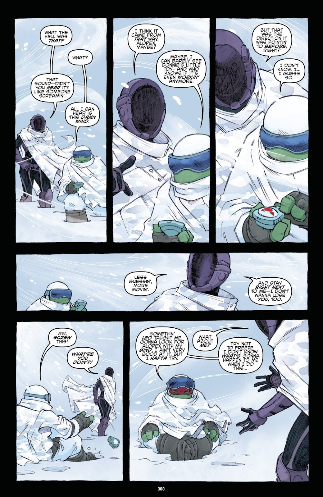 Read online Teenage Mutant Ninja Turtles: The IDW Collection comic -  Issue # TPB 8 (Part 4) - 6