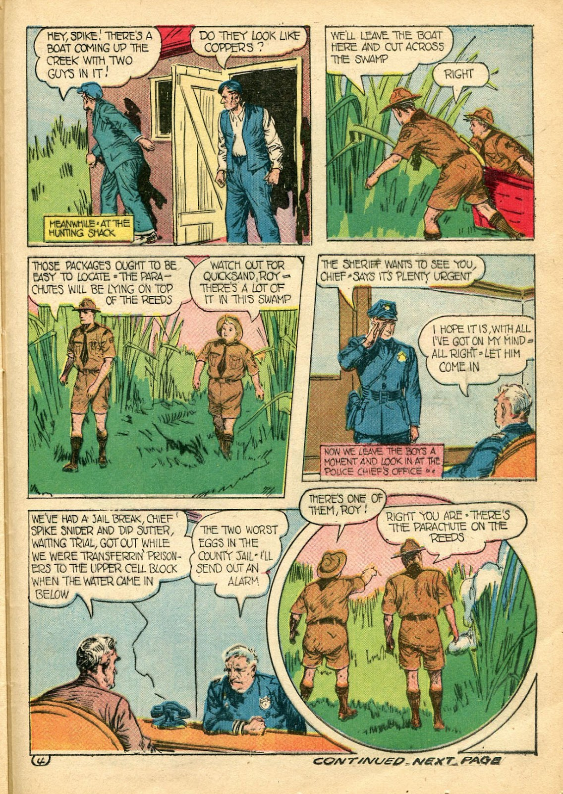 Read online Famous Funnies comic -  Issue #110 - 45