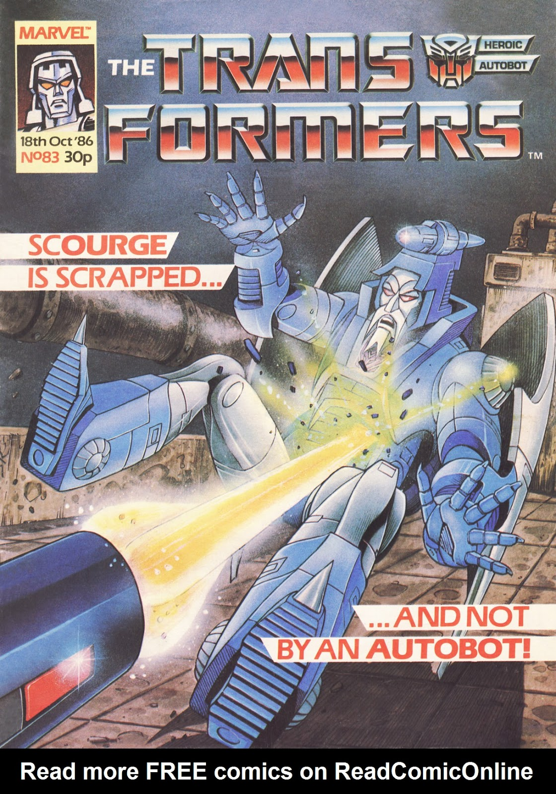 The Transformers (UK) 83 Page 1