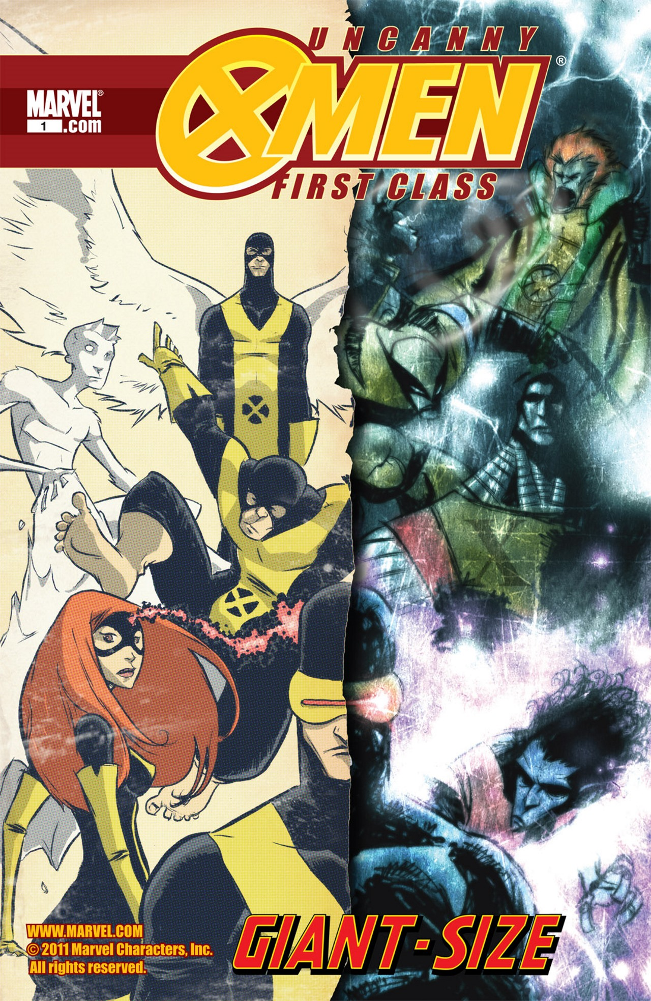 Read online Uncanny X-Men: First Class Giant-Size Special comic -  Issue # Full - 1