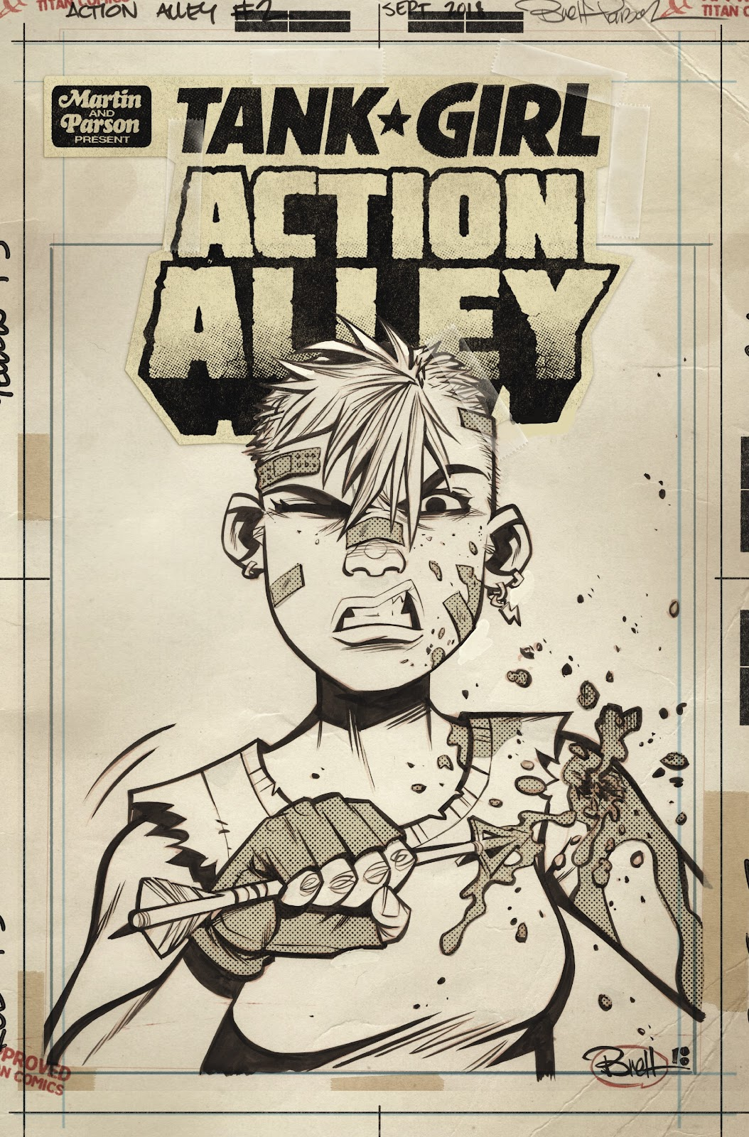 Read online Tank Girl Ongoing comic -  Issue #2 - 3
