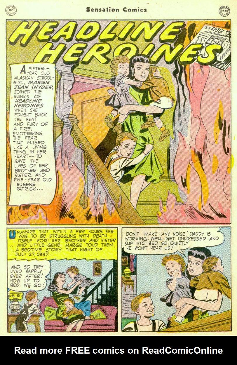 Read online Sensation (Mystery) Comics comic -  Issue #98 - 29