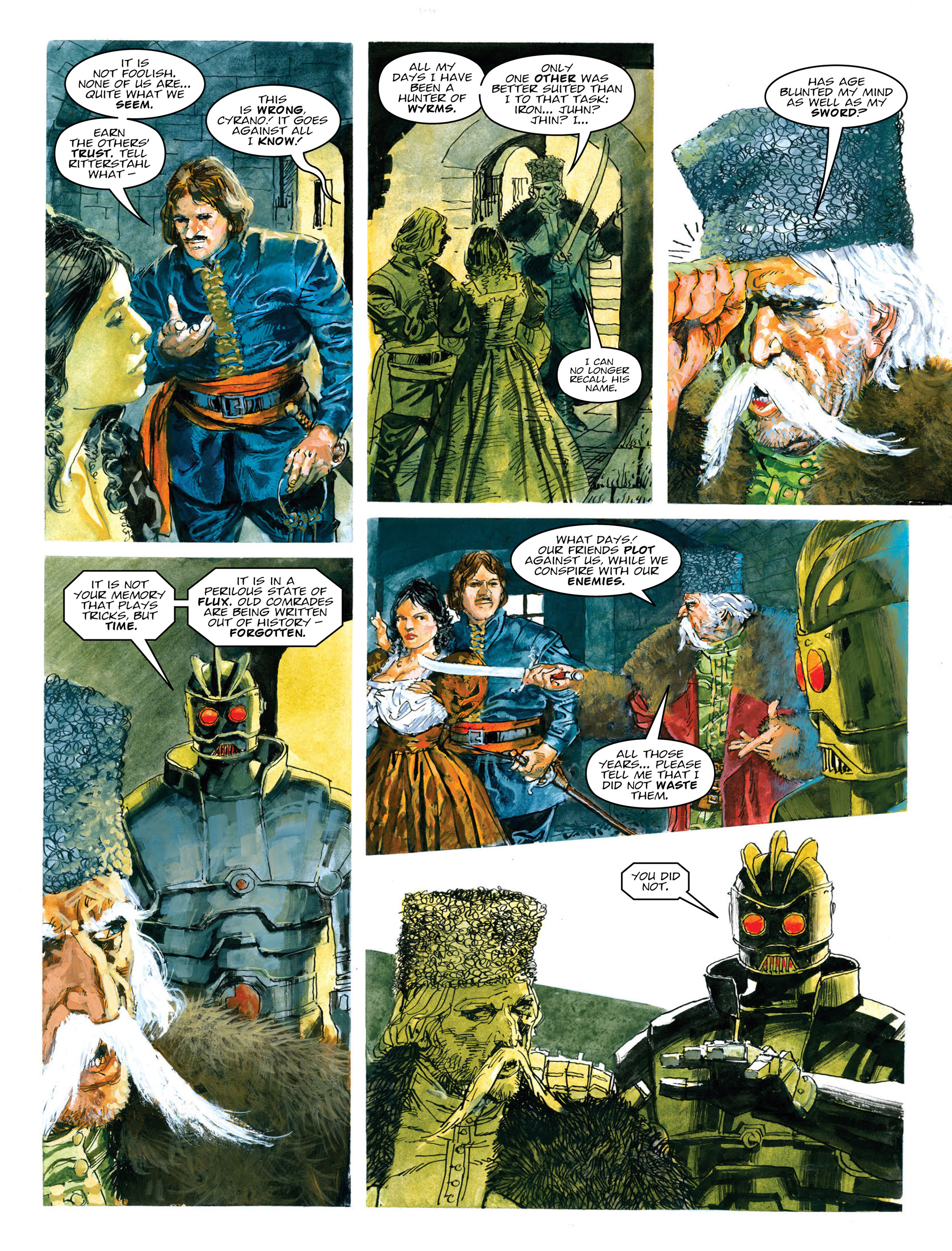 Read online 2000 AD comic -  Issue #2013 - 23