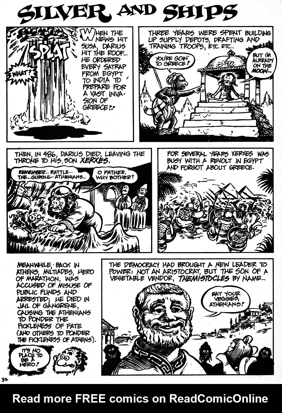 Read online The Cartoon History of the Universe comic -  Issue #6 - 34