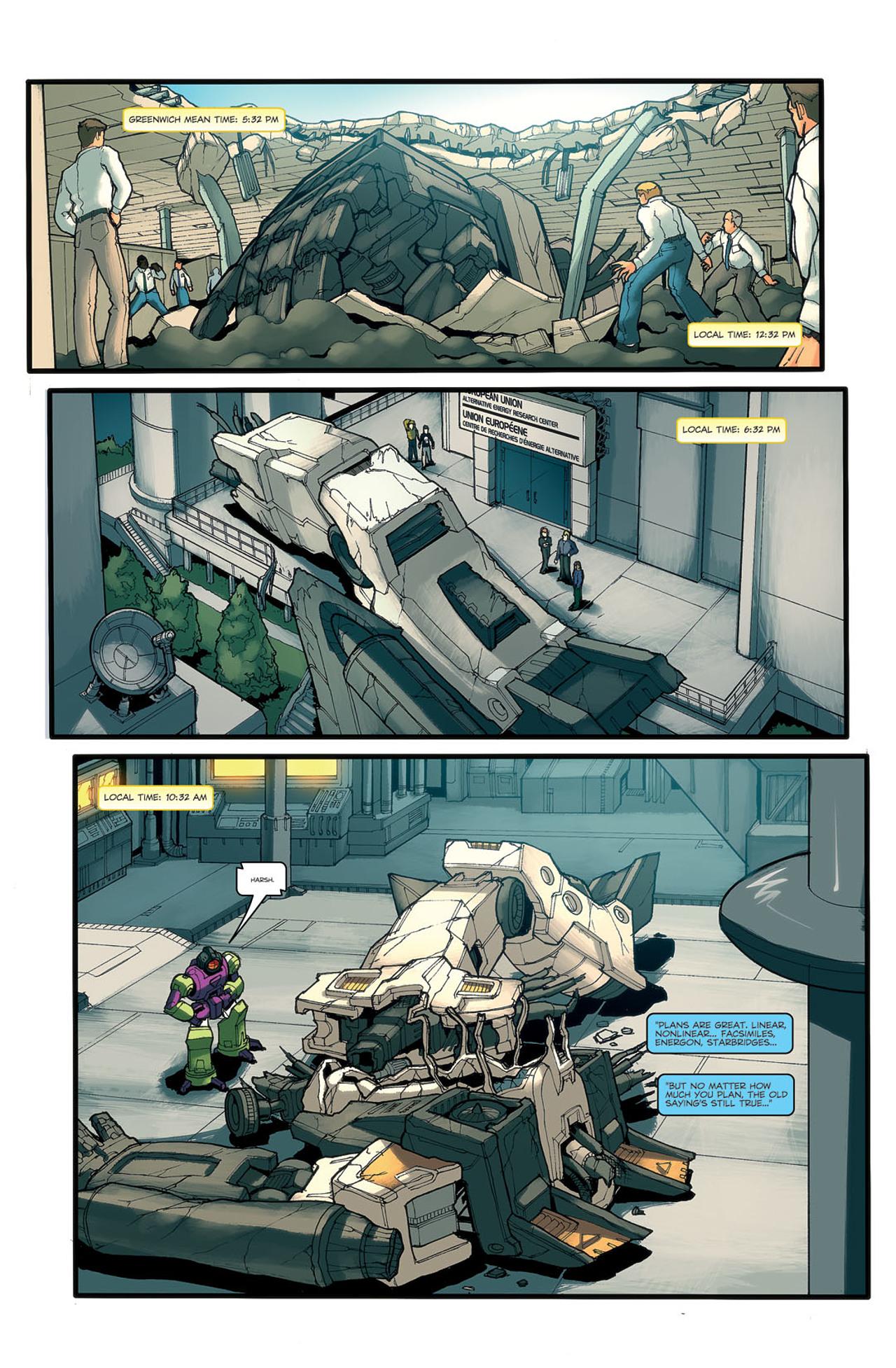 Read online Transformers Spotlight: Ramjet comic -  Issue # Full - 23