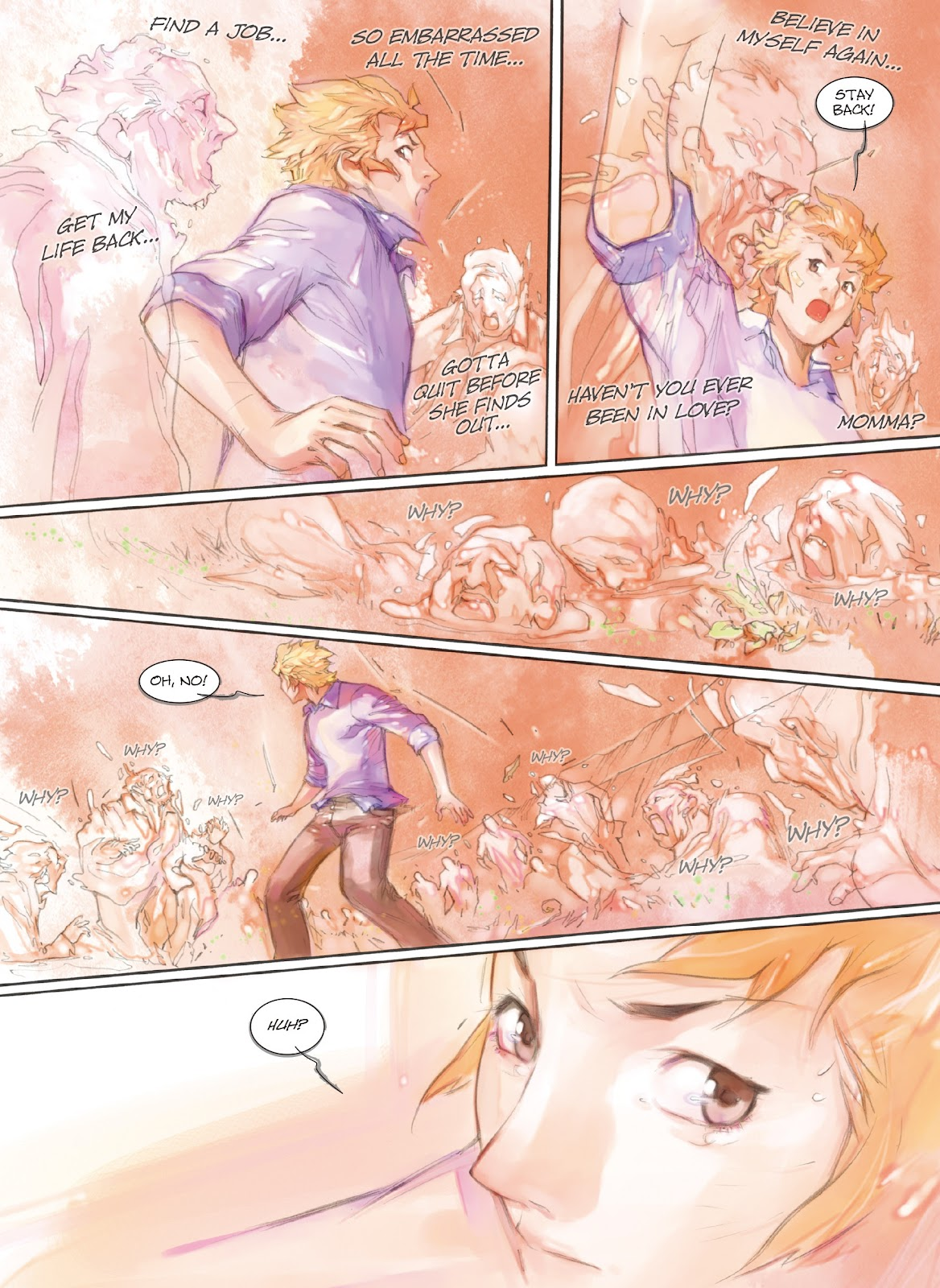 Read online Makeshift Miracle: The Girl From Nowhere comic -  Issue #7 - 11
