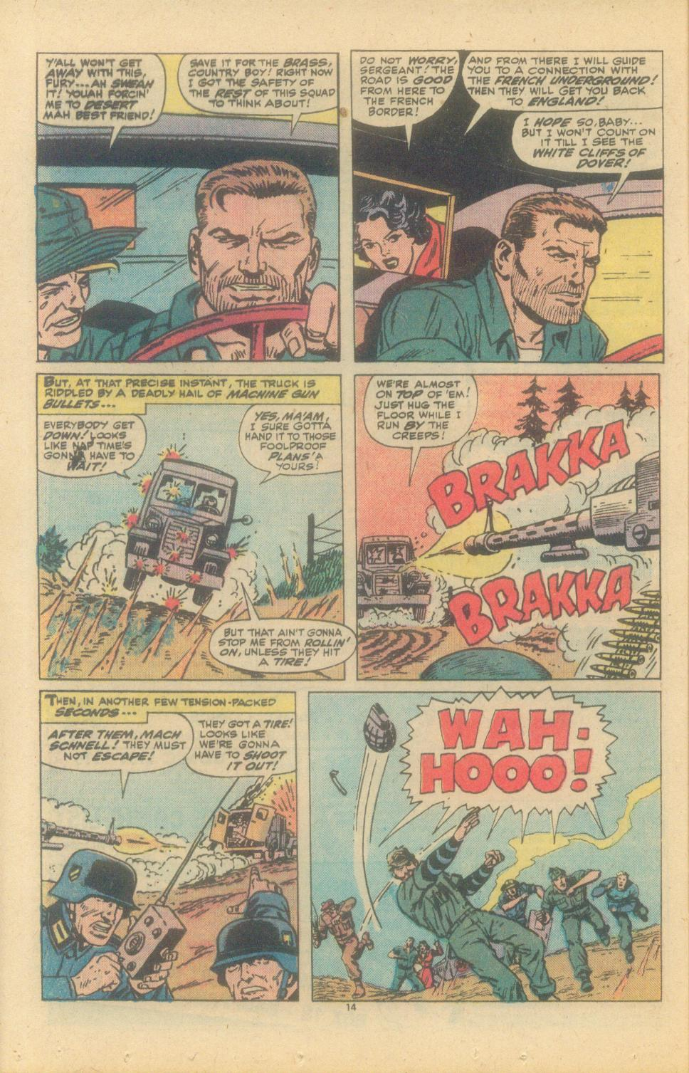 Read online Sgt. Fury comic -  Issue #150 - 16