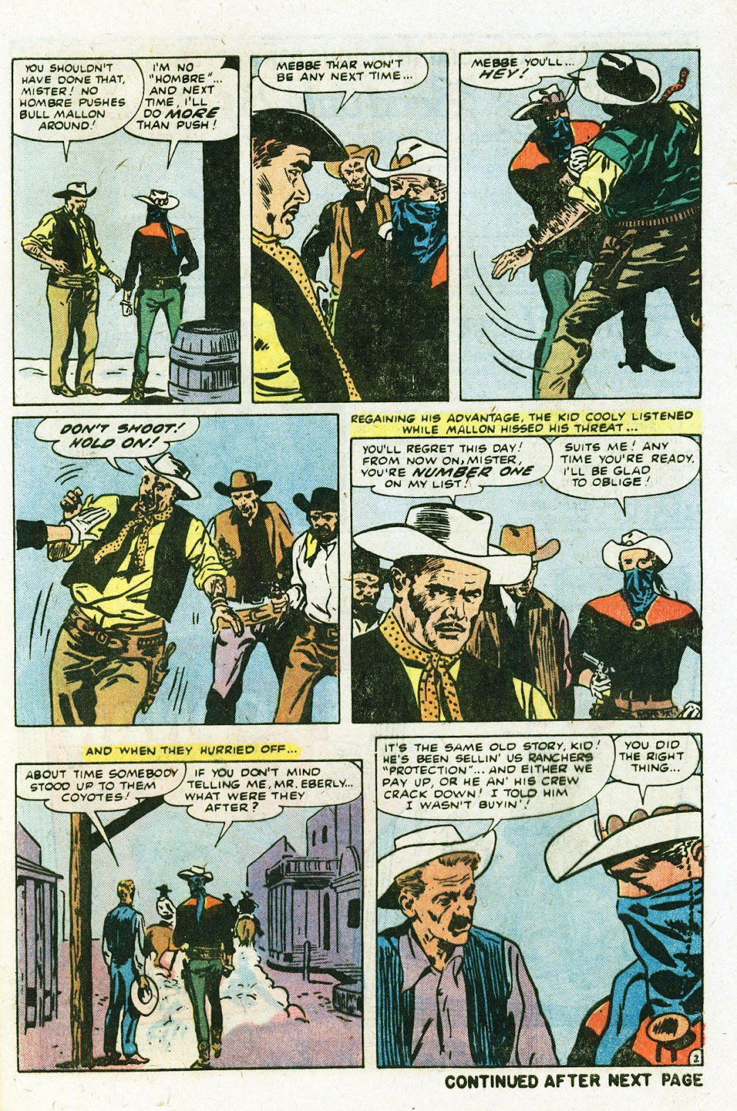 The Outlaw Kid (1970) issue 22 - Page 29