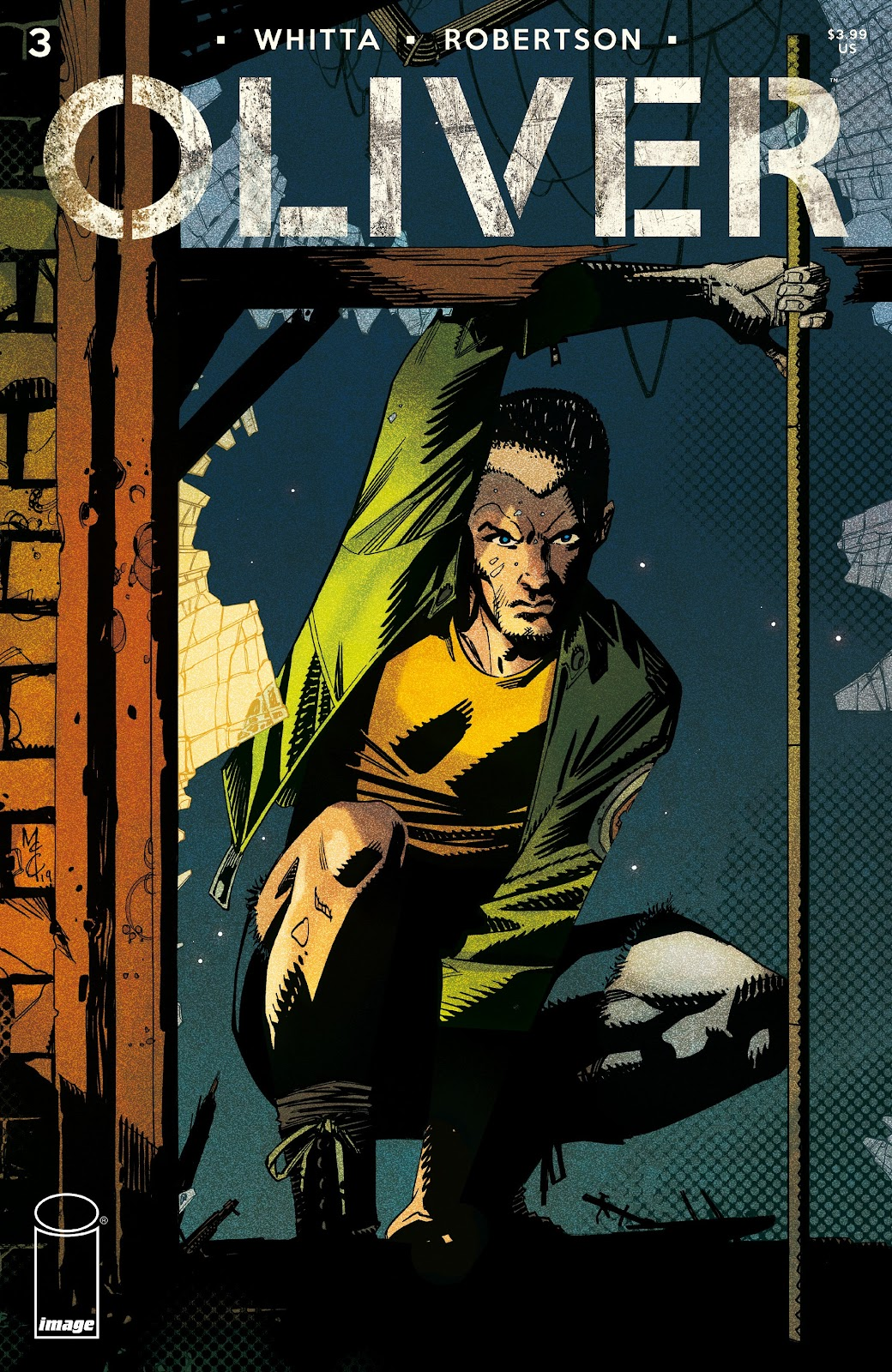 Read online Oliver comic -  Issue #3 - 32