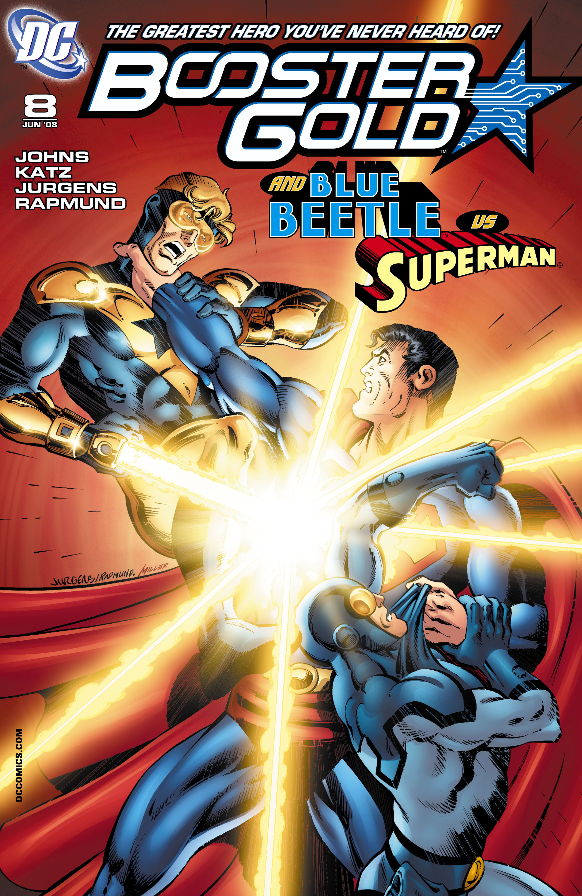 Booster Gold 2007 Issue 8