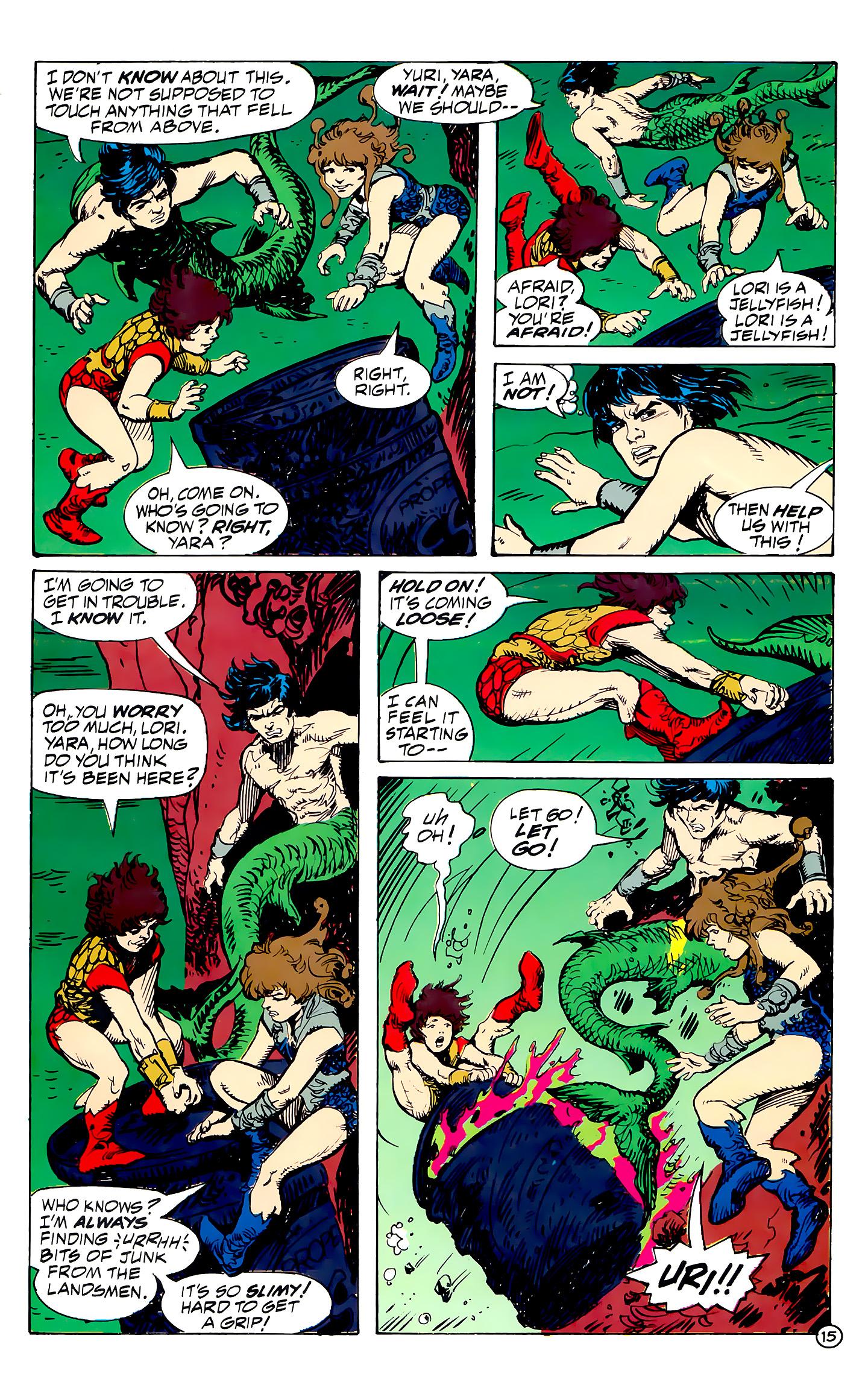 Read online Atlantis Chronicles comic -  Issue #7 - 16
