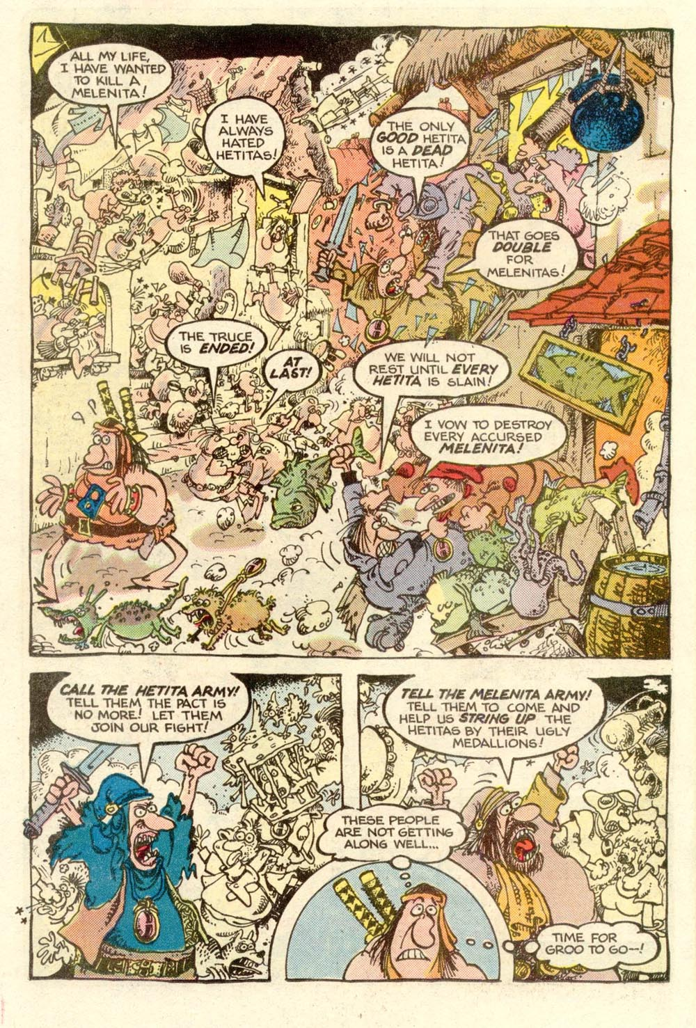 Read online Sergio Aragonés Groo the Wanderer comic -  Issue #3 - 18
