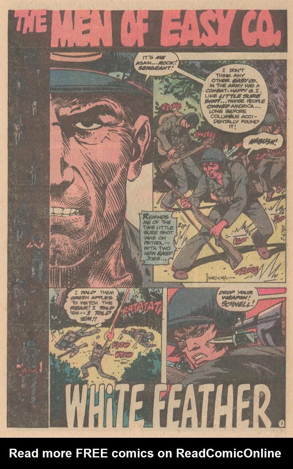 Read online Sgt. Rock comic -  Issue #347 - 19