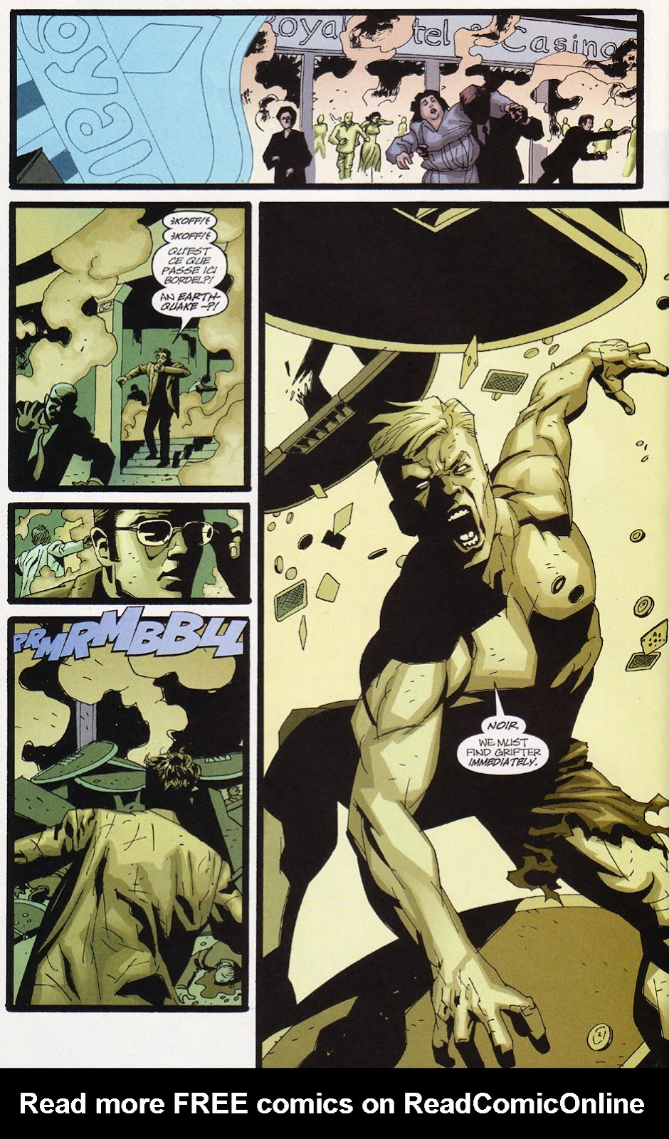 Wildcats (1999) Issue #10 #11 - English 4