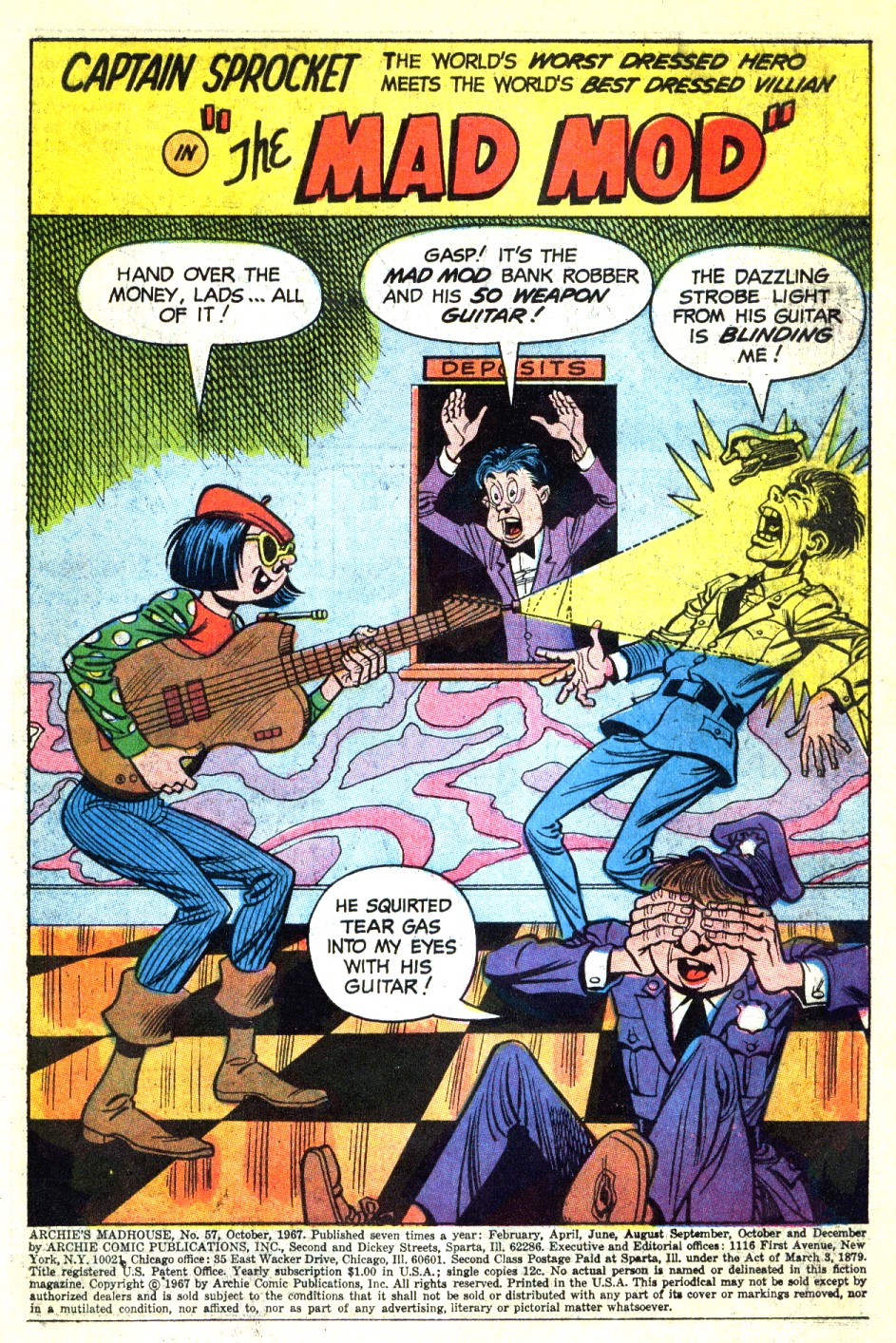 Archie's Madhouse issue 57 - Page 3