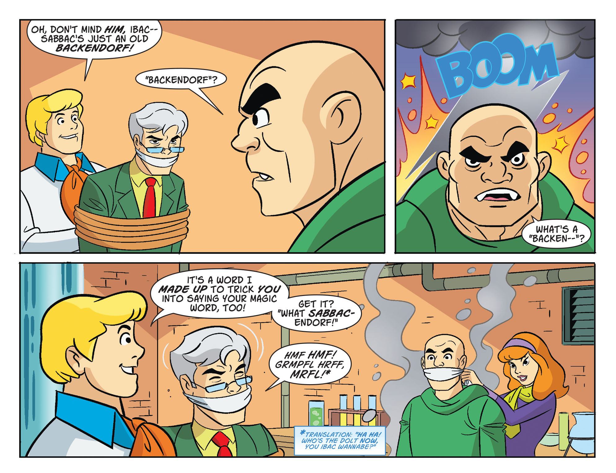 Read online Scooby-Doo! Team-Up comic -  Issue #32 - 18