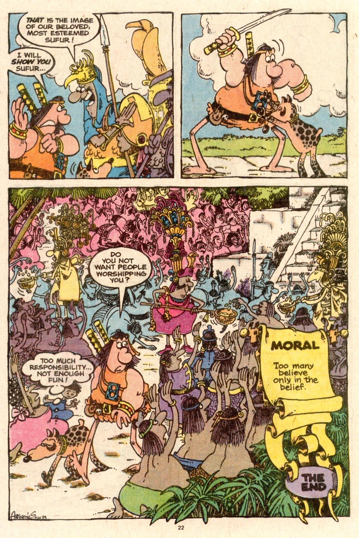Read online Sergio Aragonés Groo the Wanderer comic -  Issue #58 - 23
