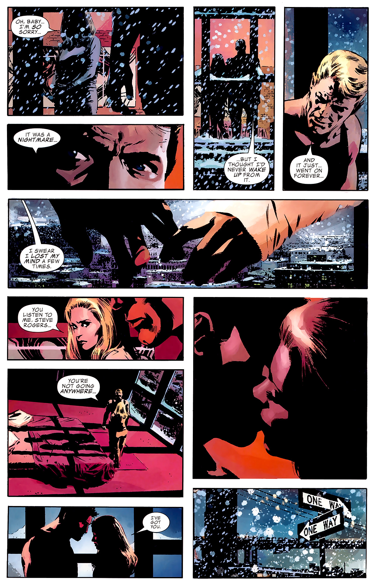 Read online Captain America Reborn: Who Will Wield the Shield? comic -  Issue # Full - 12