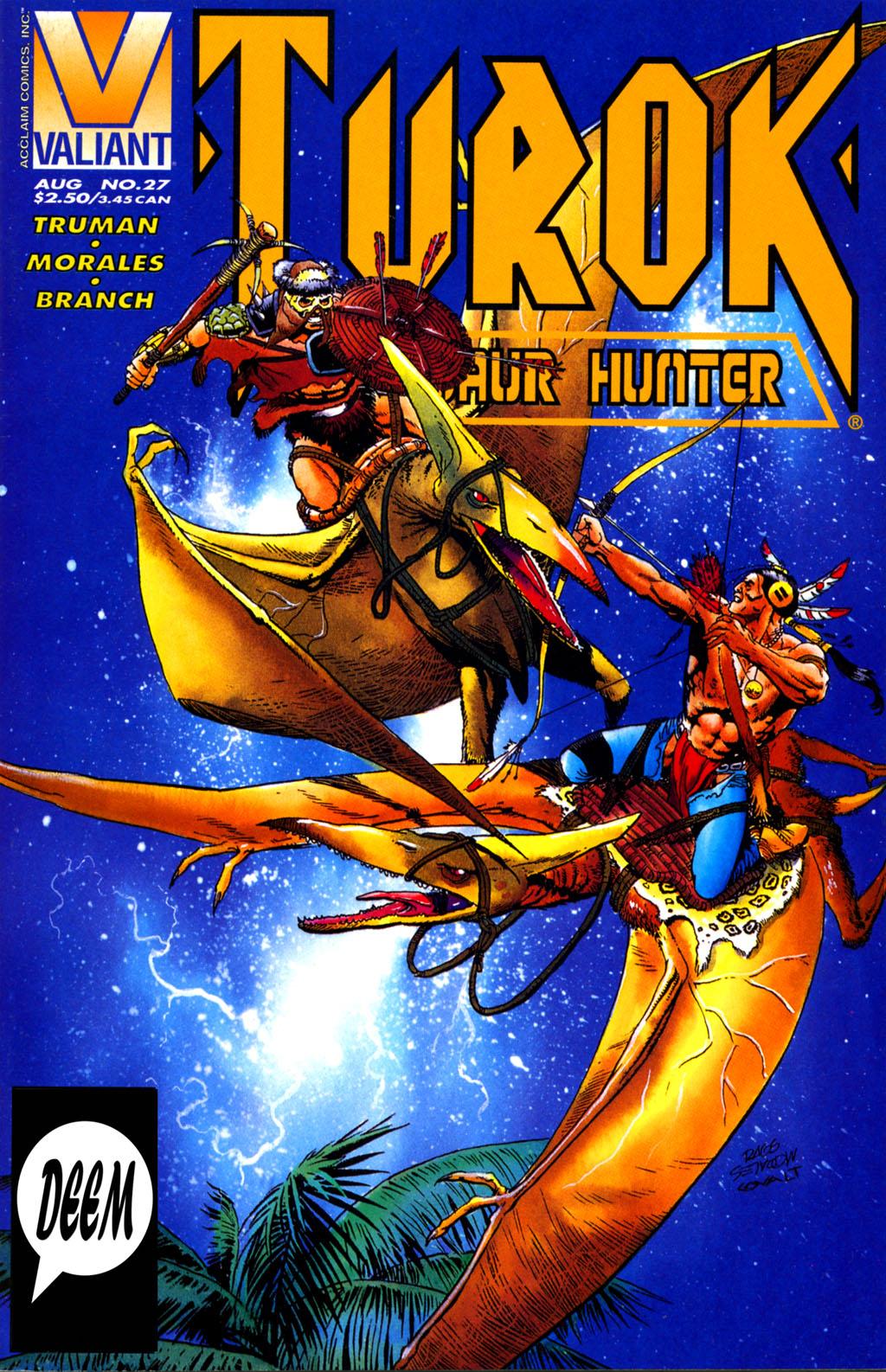 Turok, Dinosaur Hunter (1993) #27 - Read Turok, Dinosaur