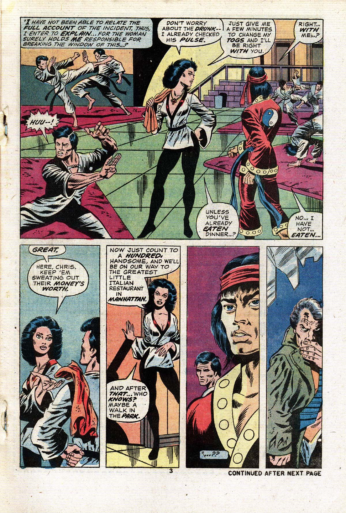 Read online Giant-Size Master of Kung Fu comic -  Issue #2 - 4