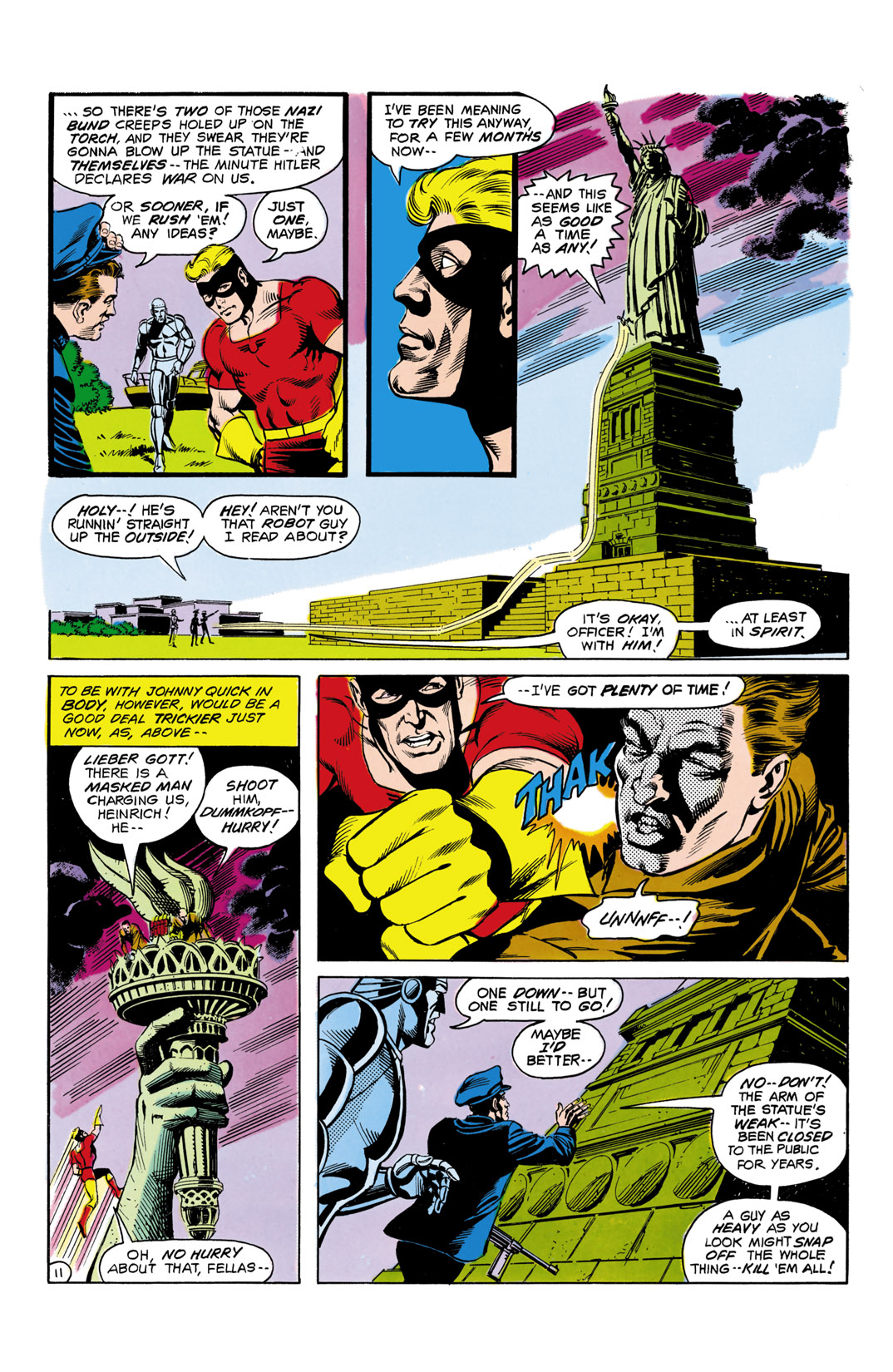 Read online All-Star Squadron comic -  Issue #5 - 12