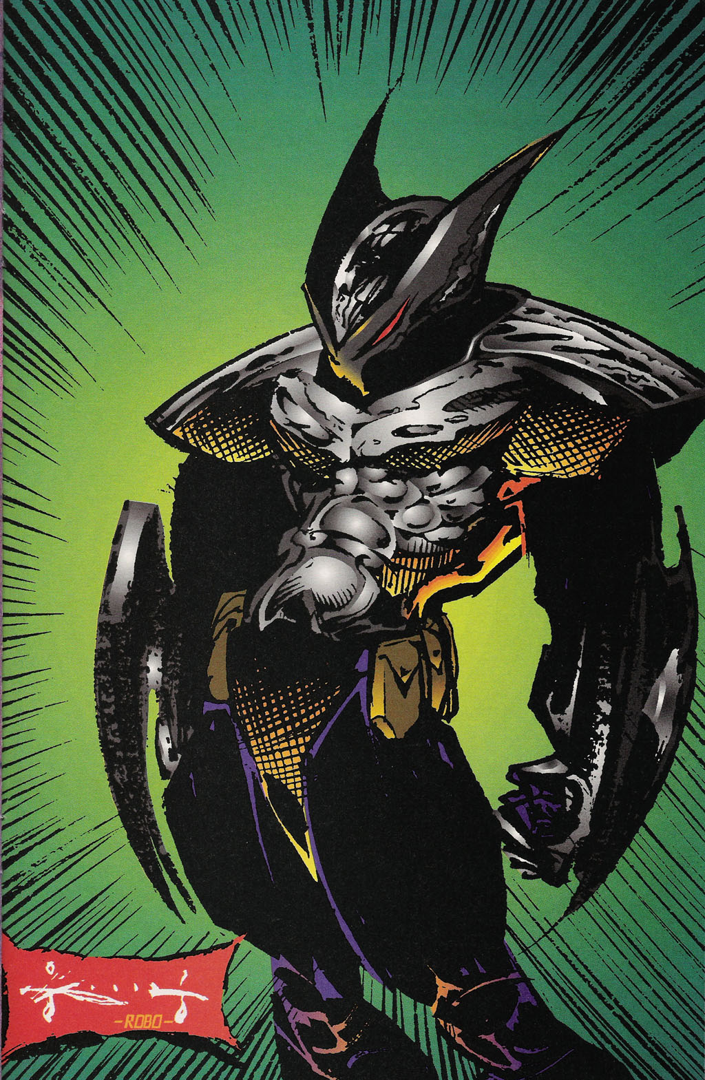 Read online ShadowHawk Gallery comic -  Issue # Full - 26