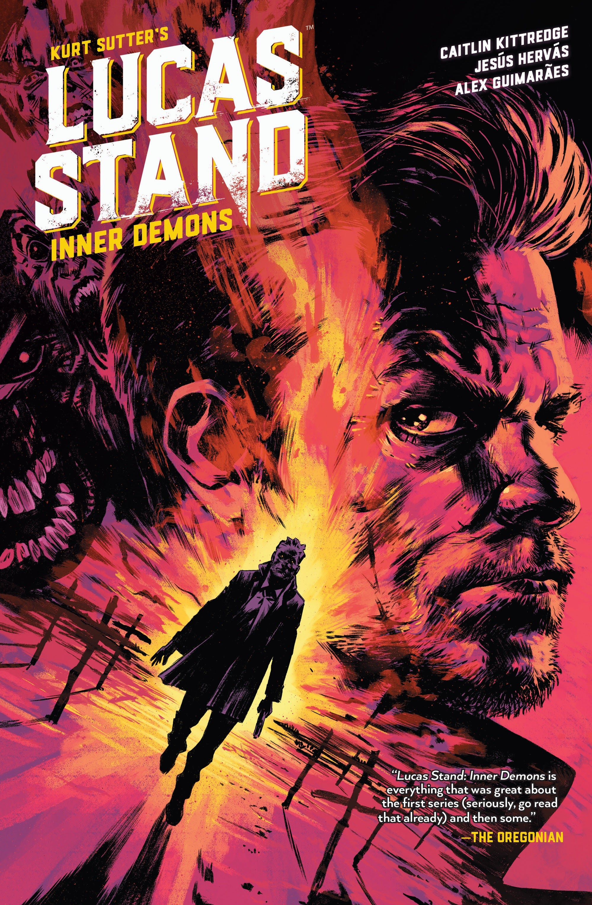 Lucas Stand: Inner Demons issue _TPB - Page 1