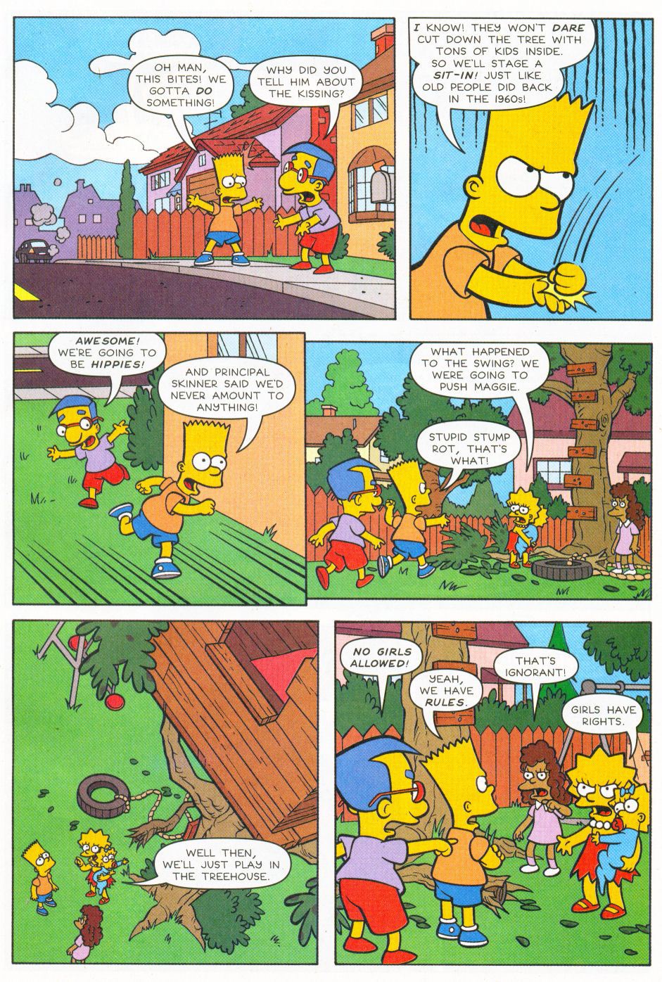 Read online Simpsons Comics Presents Bart Simpson comic -  Issue #26 - 4
