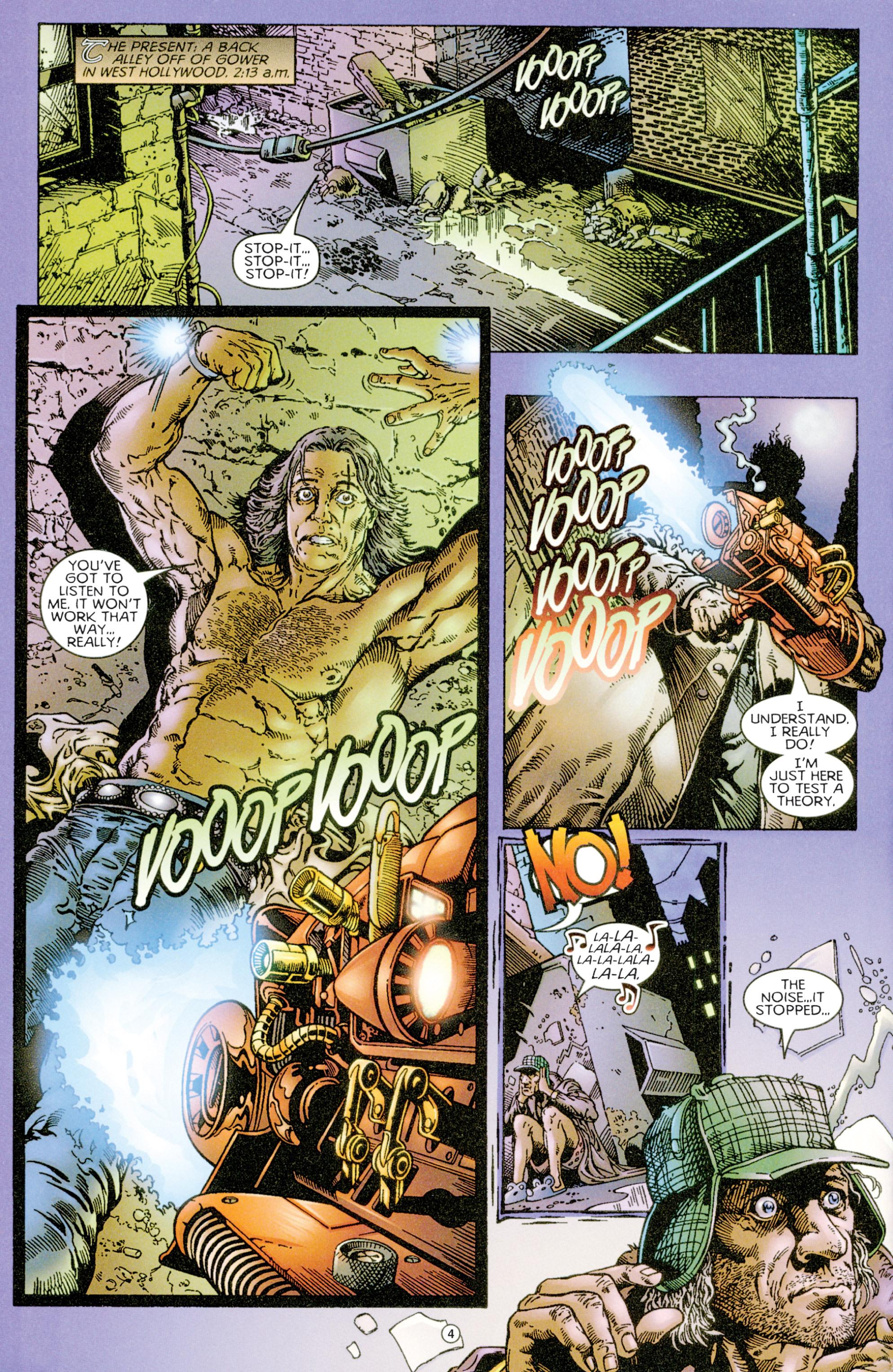 Read online Eternal Warriors comic -  Issue # Issue Time & Treachery - 5