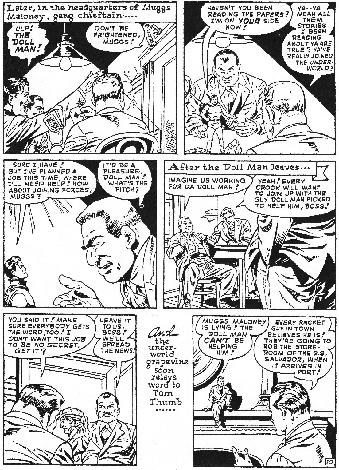 Read online Men of Mystery Comics comic -  Issue #65 - 19