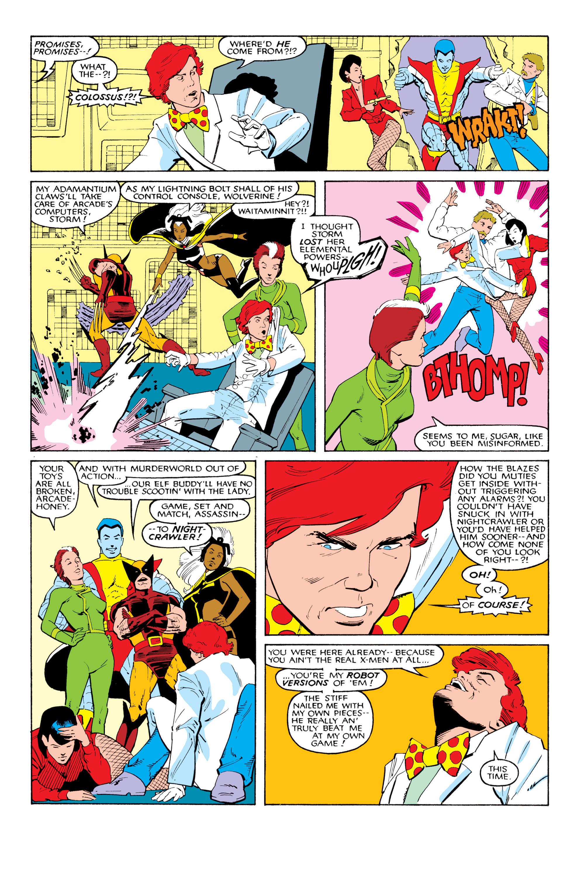 Read online Uncanny X-Men (1963) comic -  Issue #204 - 23