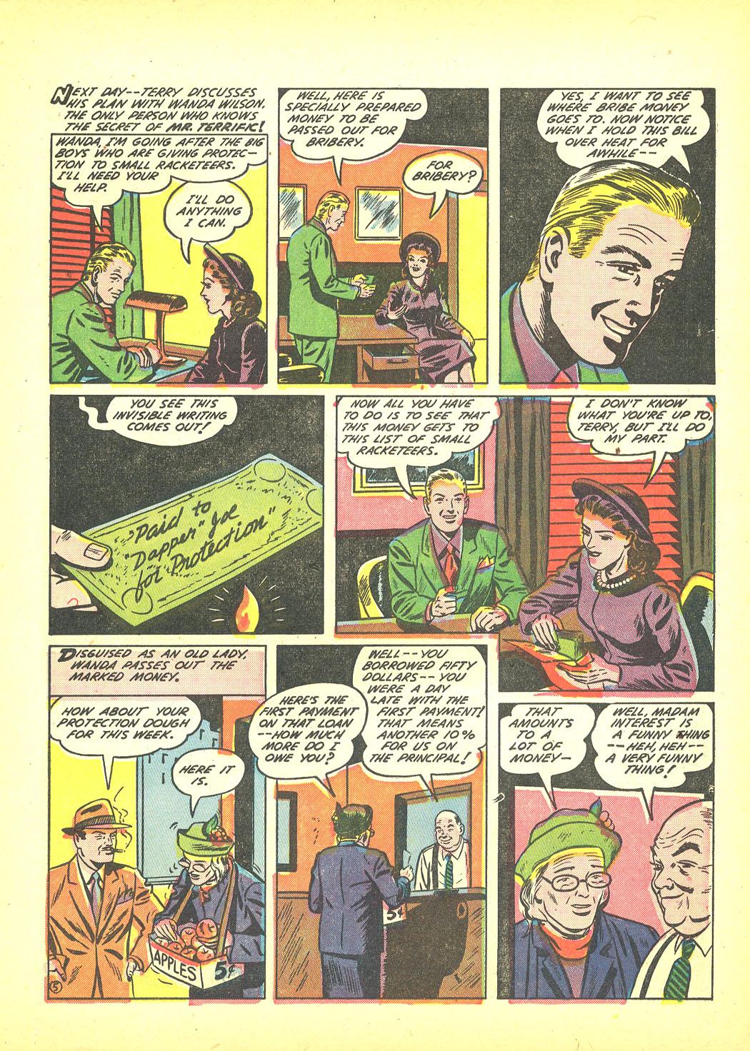Read online Sensation (Mystery) Comics comic -  Issue #4 - 29