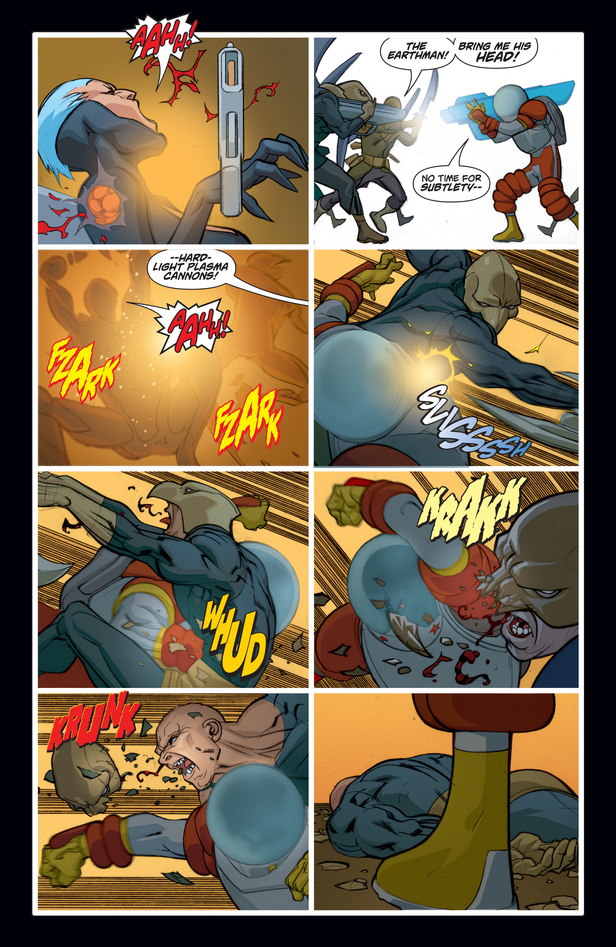 Read online Adam Strange (2004) comic -  Issue #8 - 11