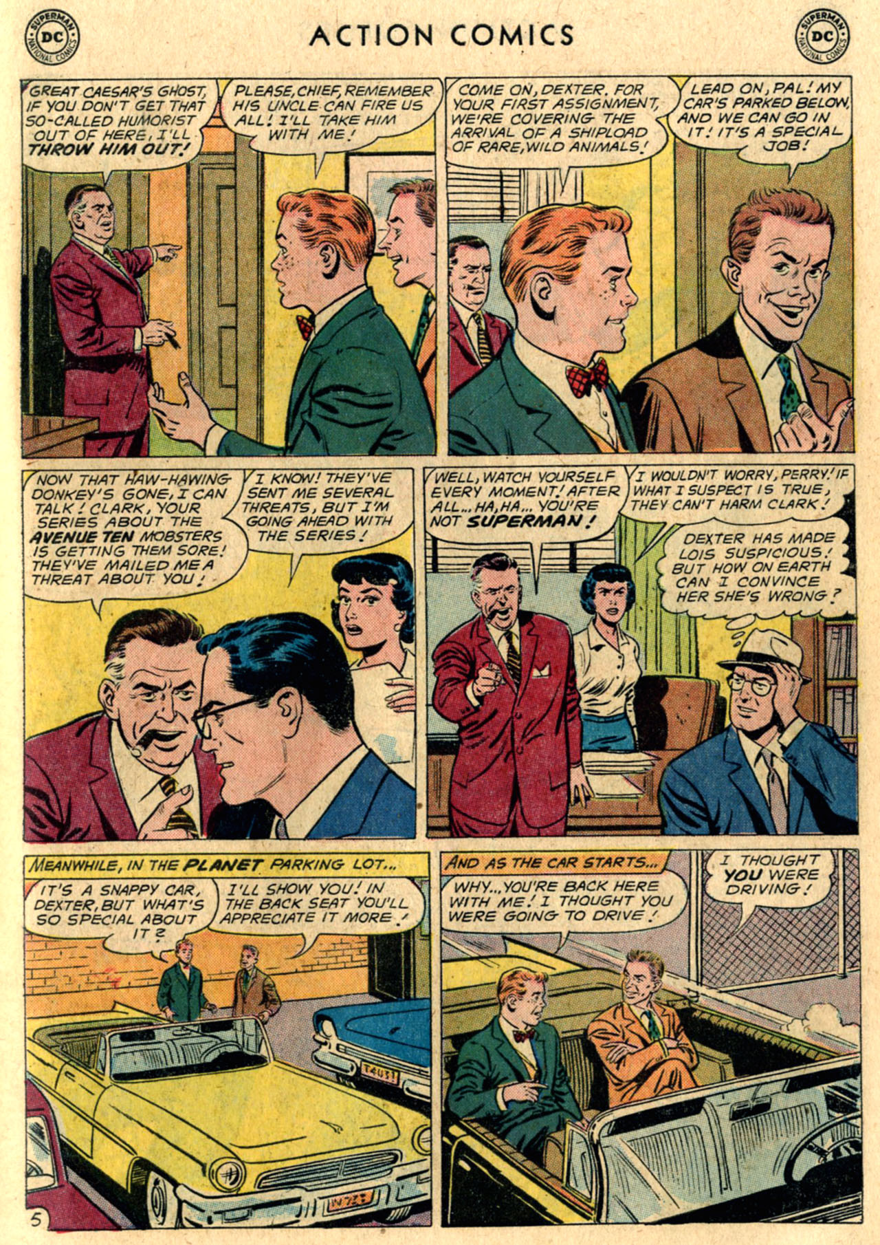 Read online Action Comics (1938) comic -  Issue #289 - 7