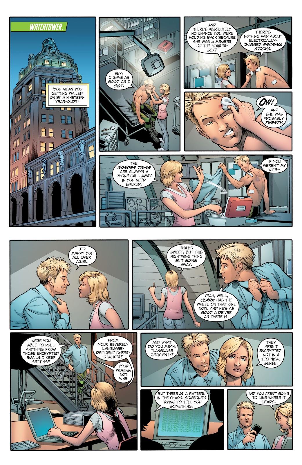 Read online Smallville Season 11 [II] comic -  Issue # TPB 2 - 54