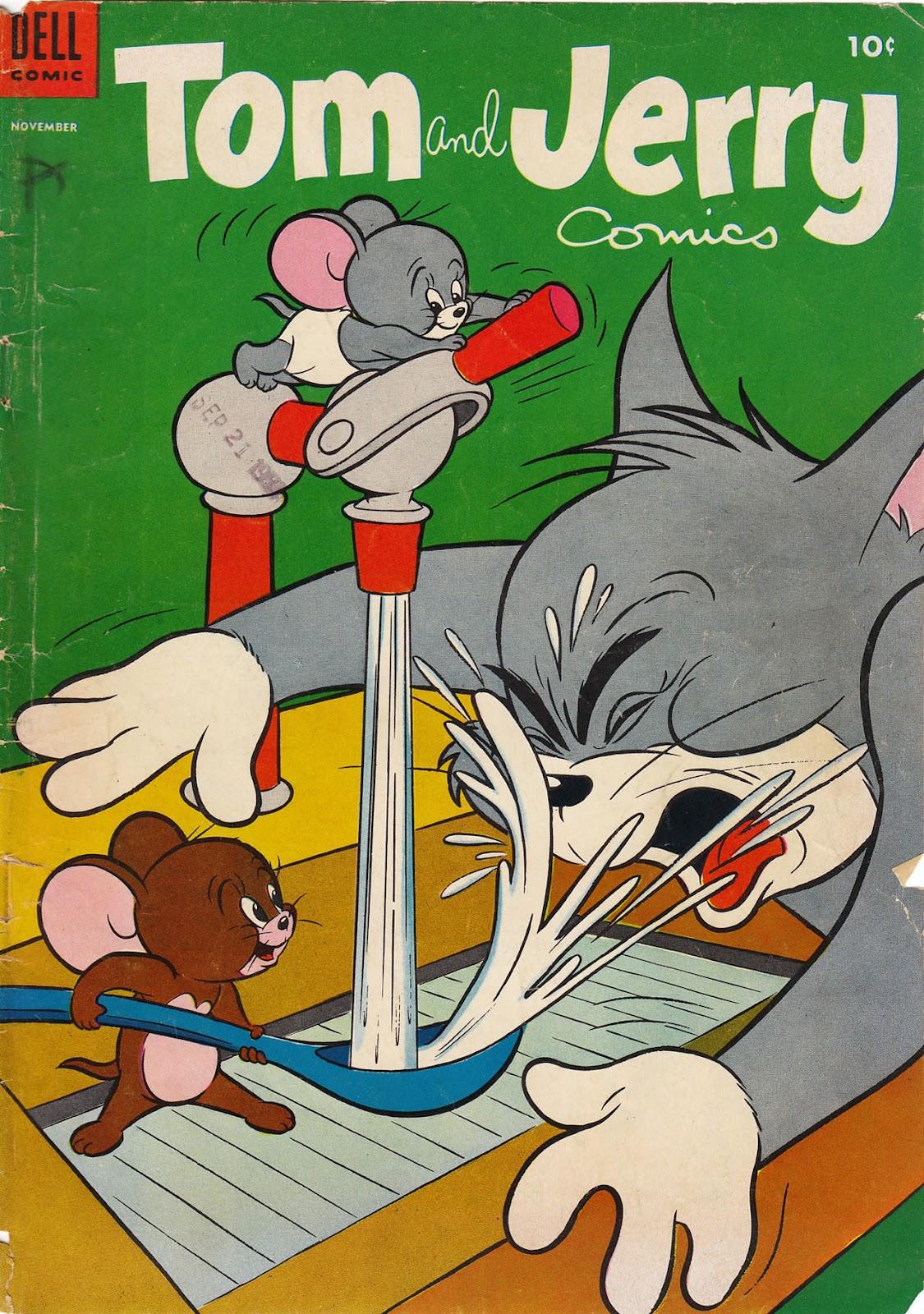 Tom & Jerry Comics 124 Page 1