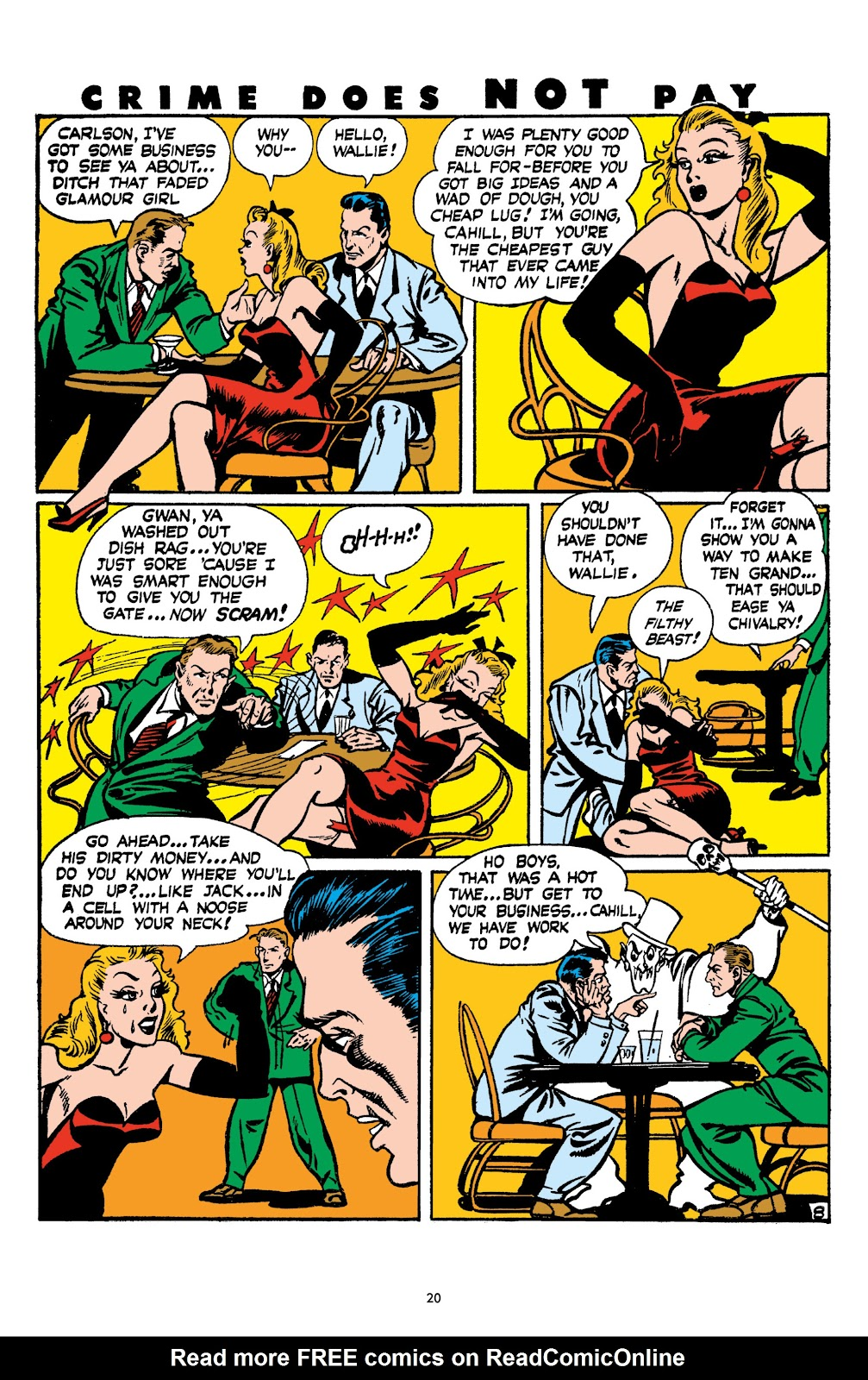 Read online Crime Does Not Pay Archives comic -  Issue # TPB 4 (Part 1) - 20