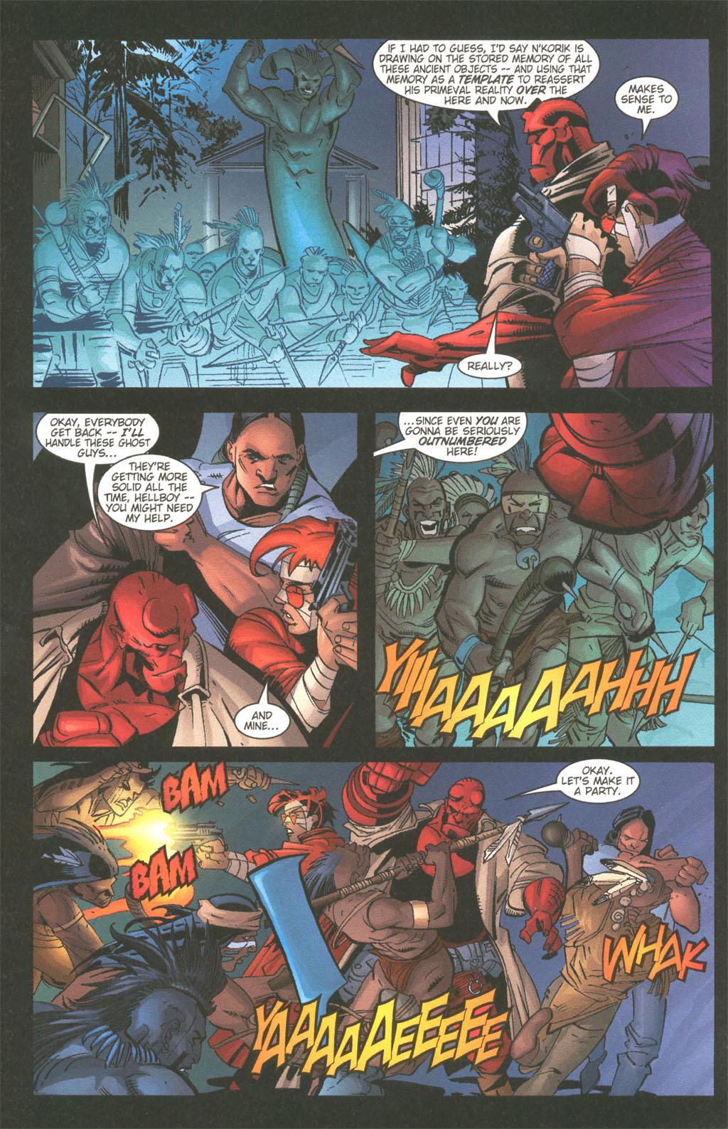 Read online Painkiller Jane/Hellboy comic -  Issue # Full - 13