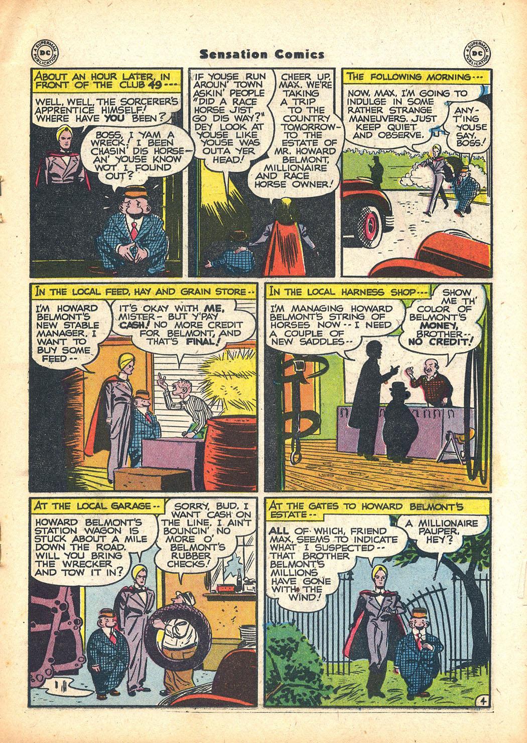 Read online Sensation (Mystery) Comics comic -  Issue #63 - 27
