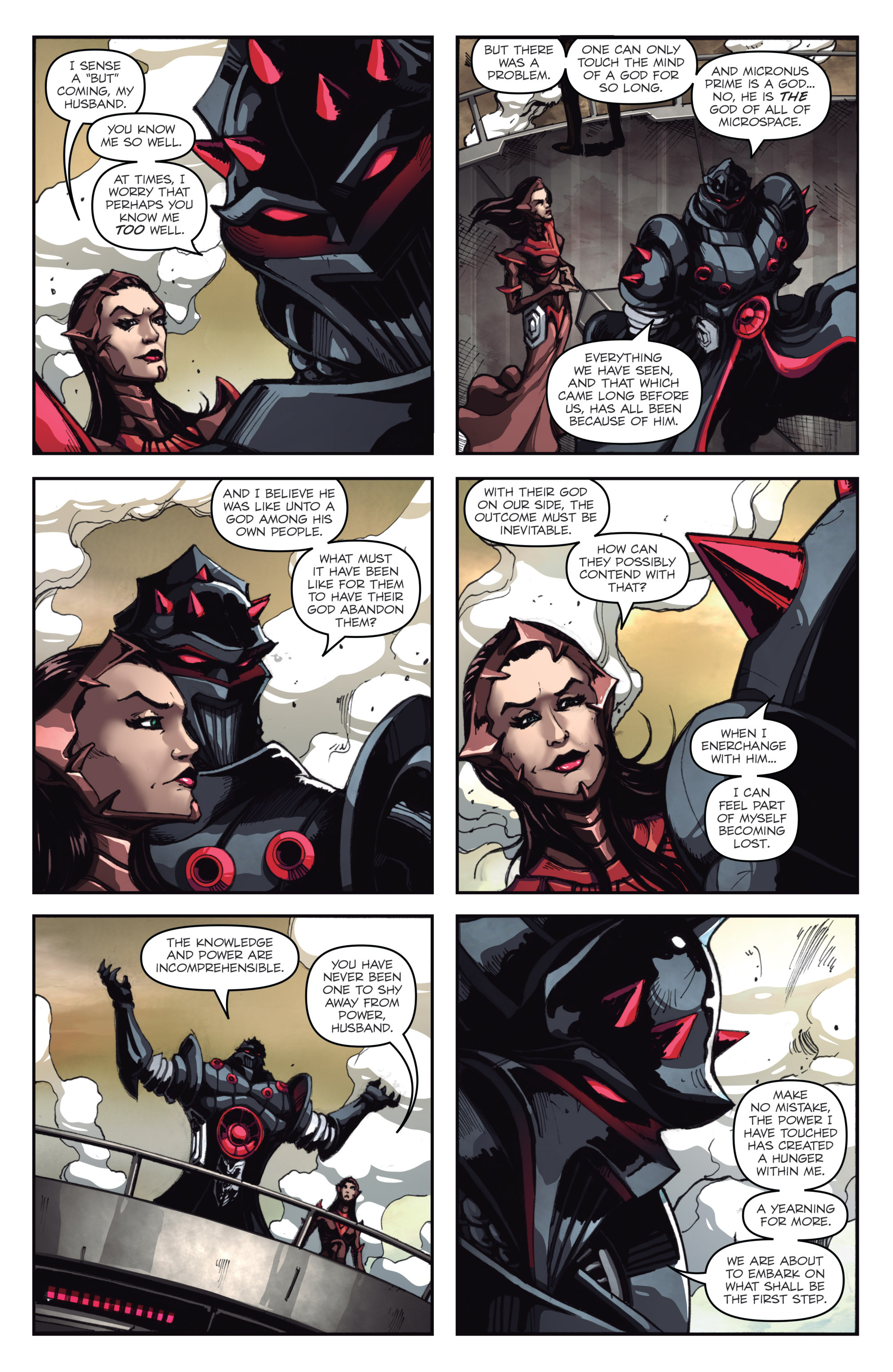 Read online Micronauts: Wrath of Karza comic -  Issue #1 - 21