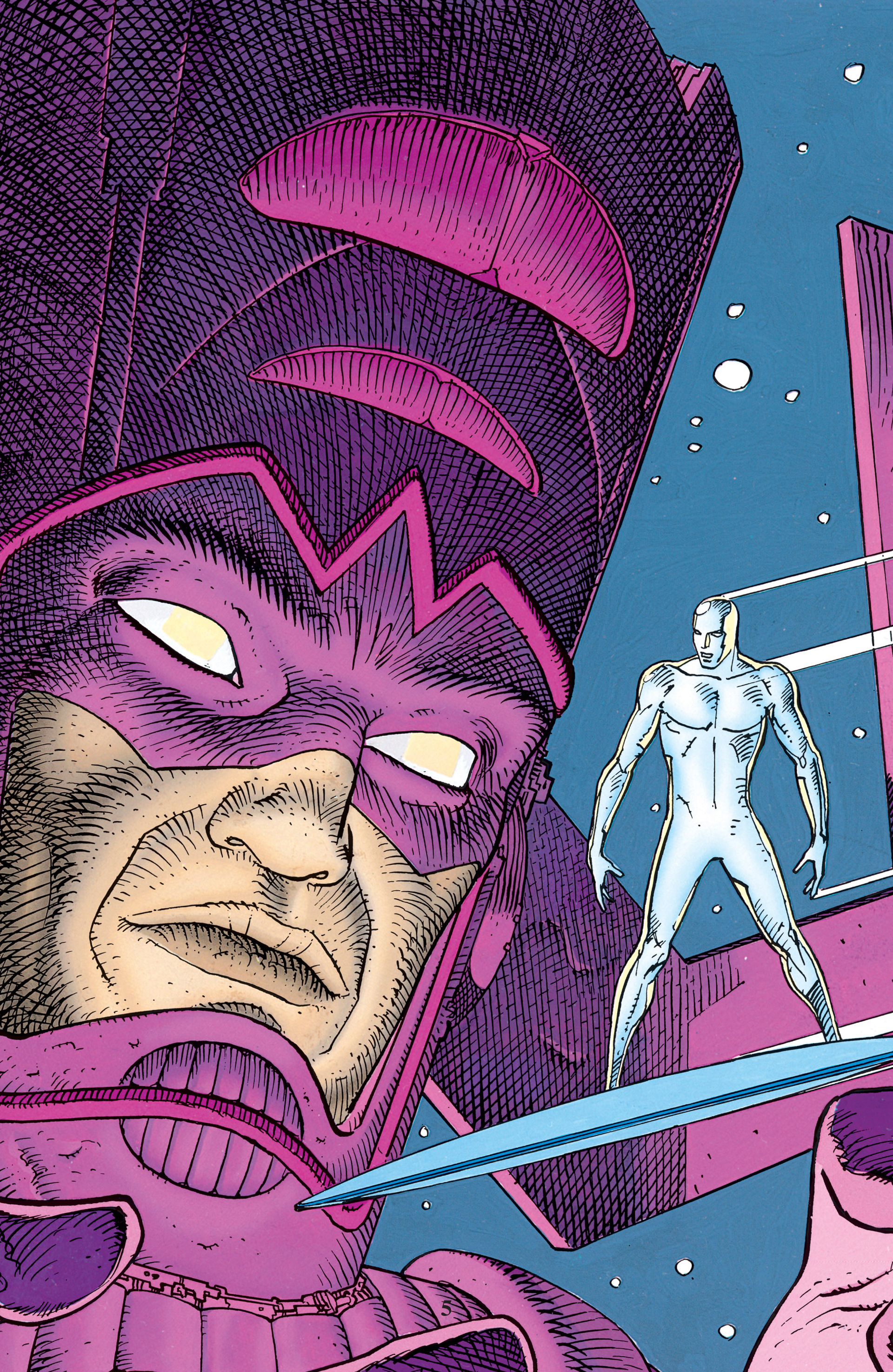 Read online Silver Surfer (1988) comic -  Issue #1 - 2