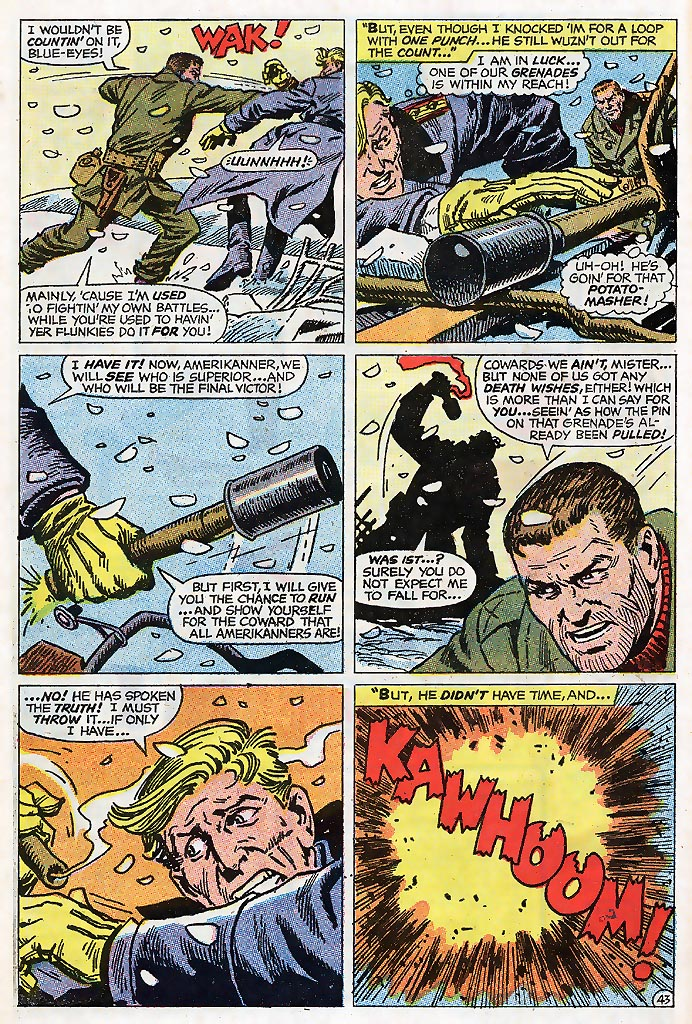 Read online Sgt. Fury comic -  Issue # _Special 4 - 54