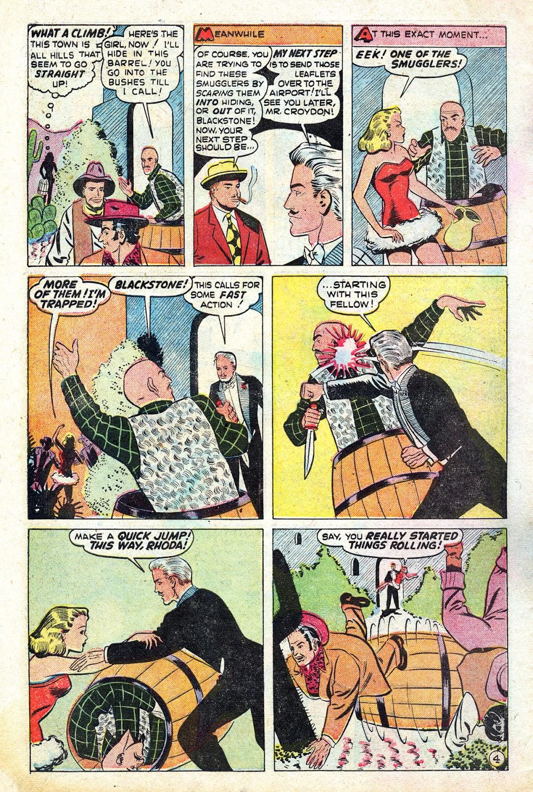 Read online Blackstone the Magician comic -  Issue #4 - 6