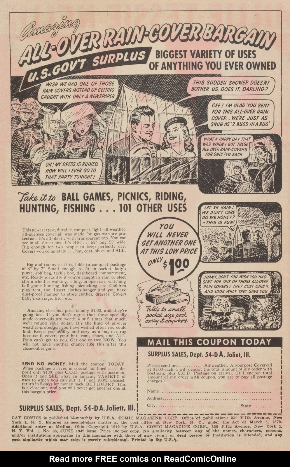 Read online Gay Comics comic -  Issue #38 - 2